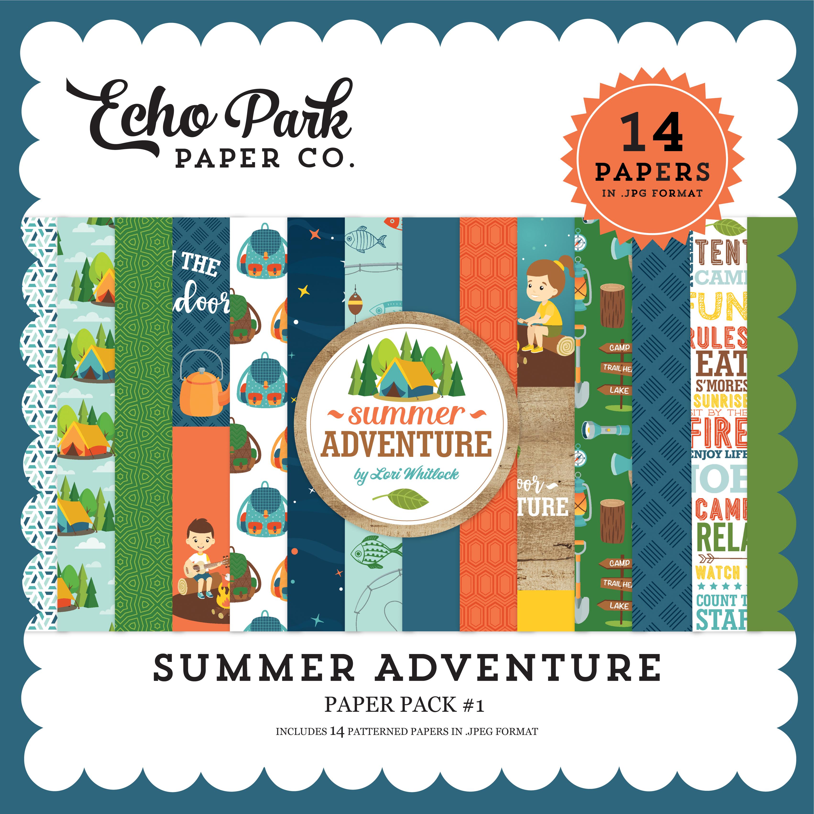 Summer Adventure Paper Pack #1