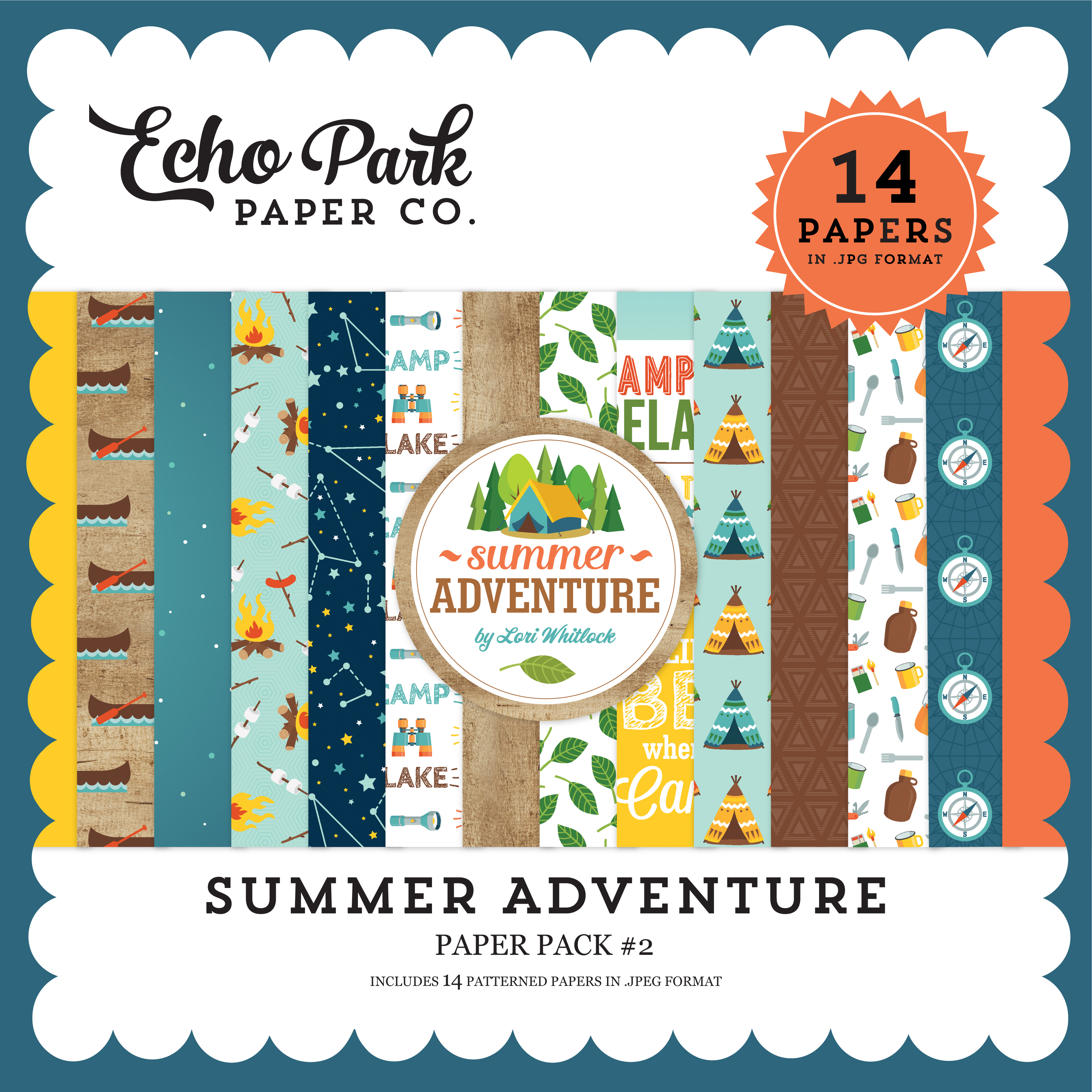 Summer Adventure Paper Pack #2