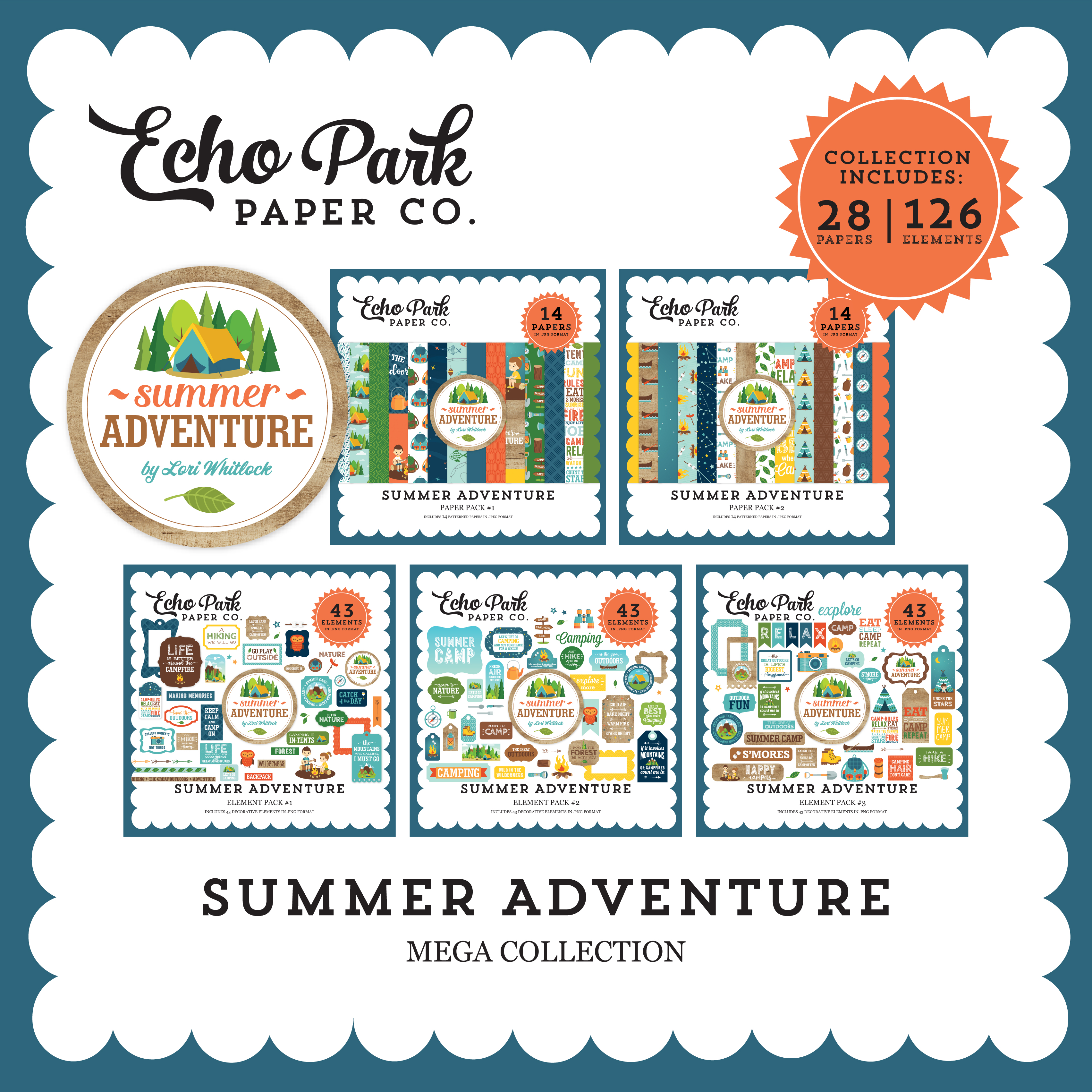 Summer Adventure Mega Collection