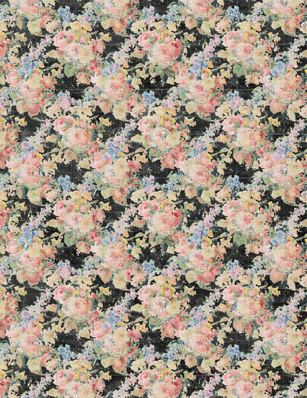 1185dbe4a Vintage Flower Market Printable Papers - Snap Click Supply Co.