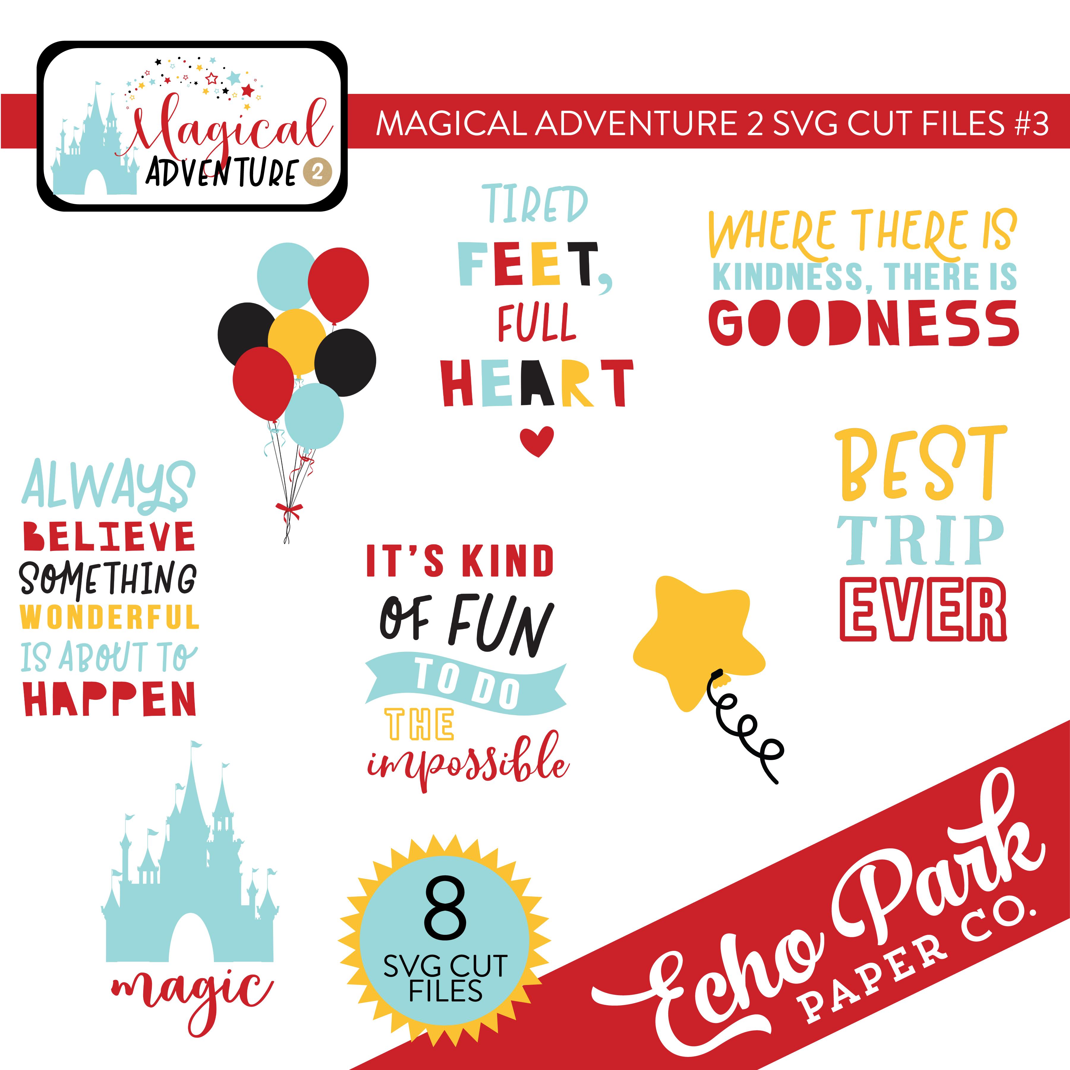 Magical Adventure 2 SVG Cut Files #3