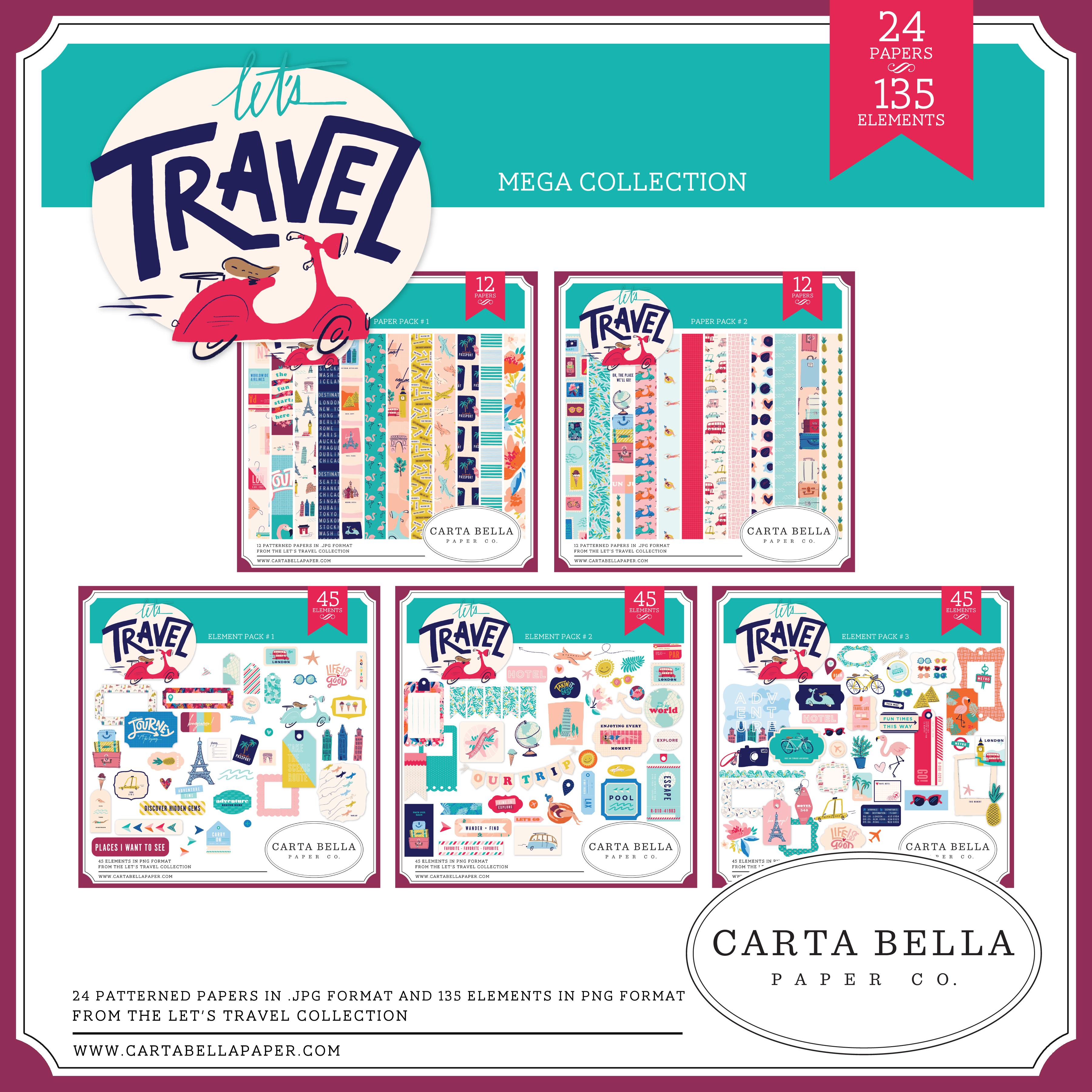 Let's Travel Mega Collection