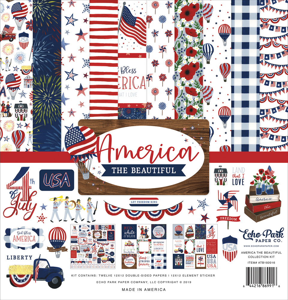 America The Beautiful Collection Kit