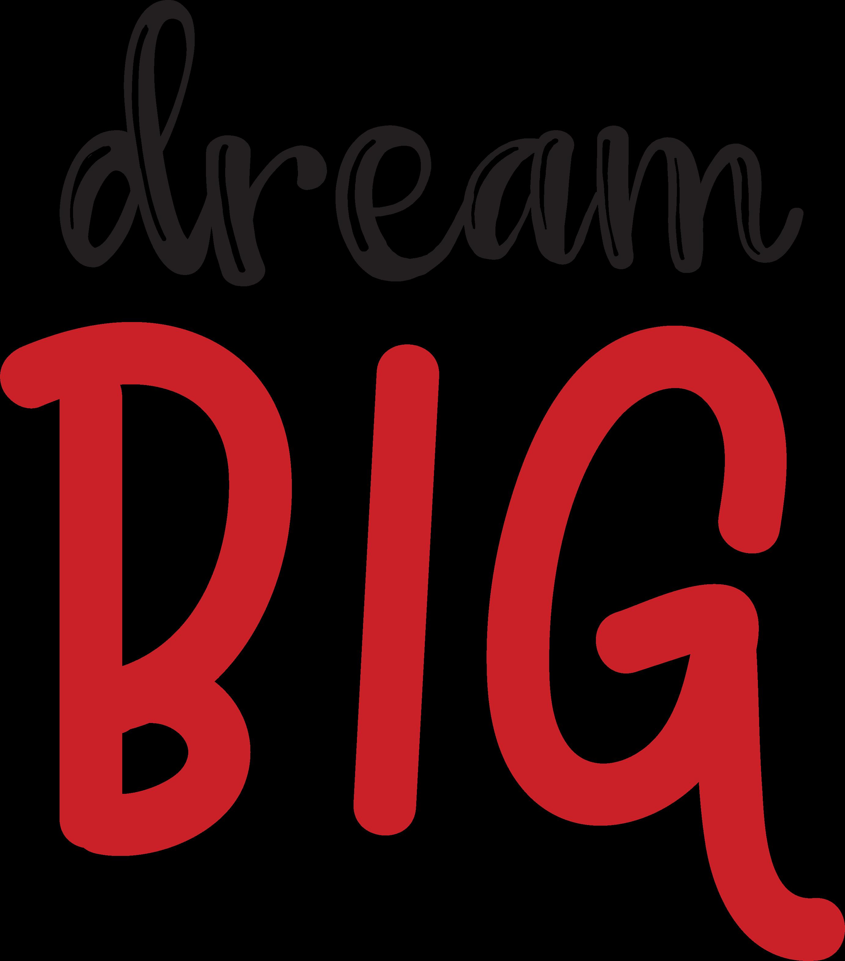 Dream Big SVG Cut File