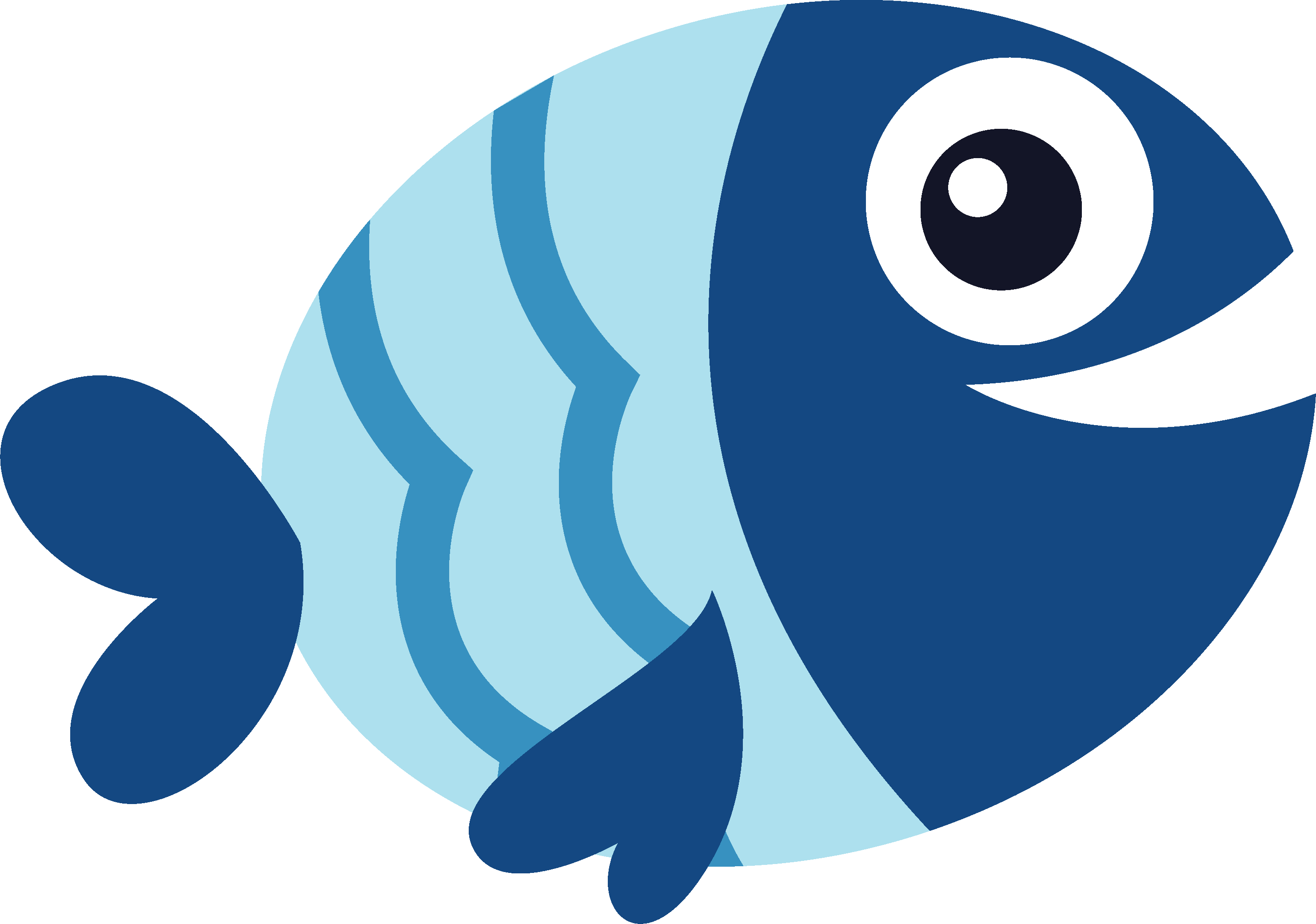 I Love Summer Fish SVG Cut File