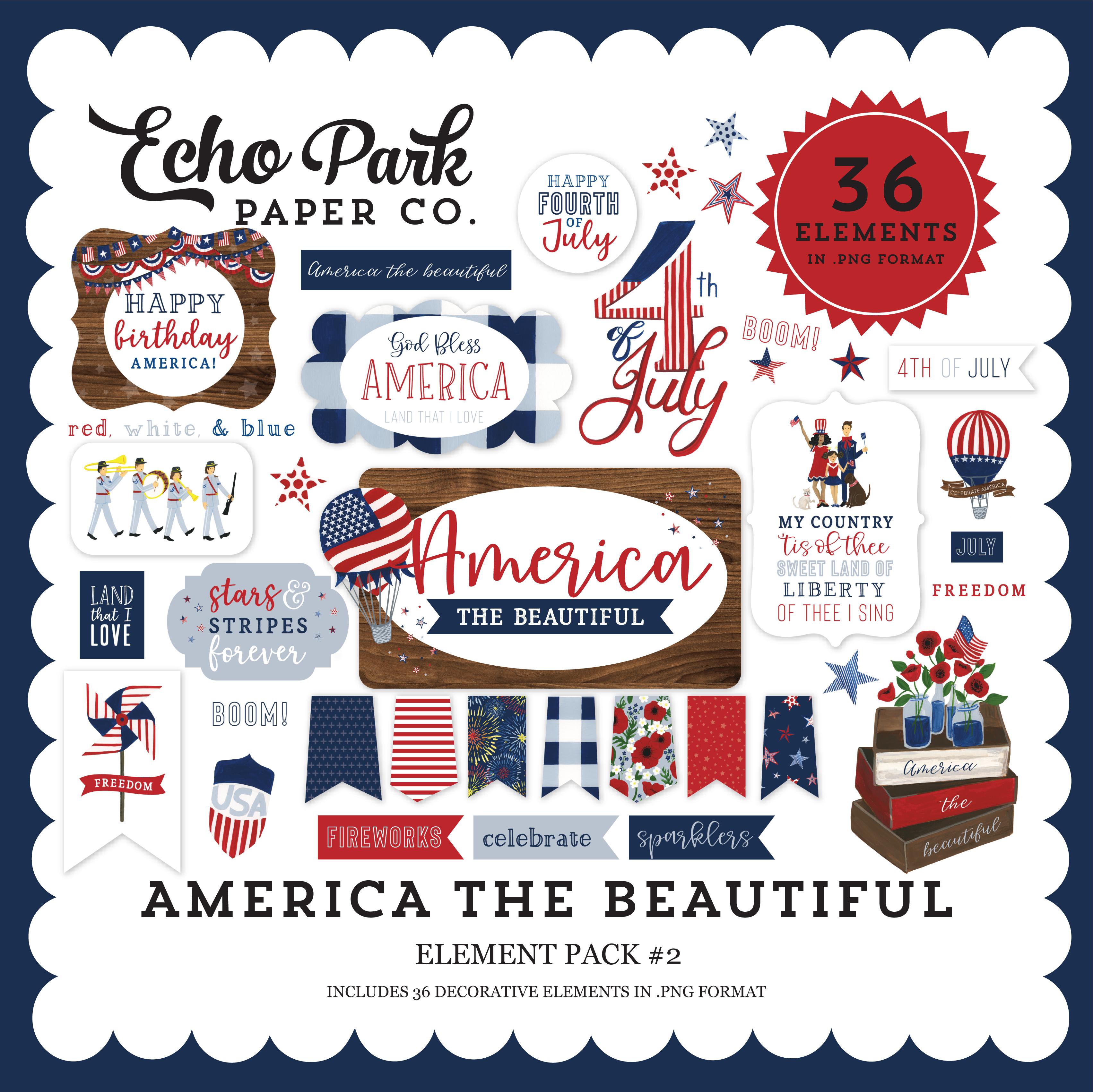 America the Beautiful Element Pack #2