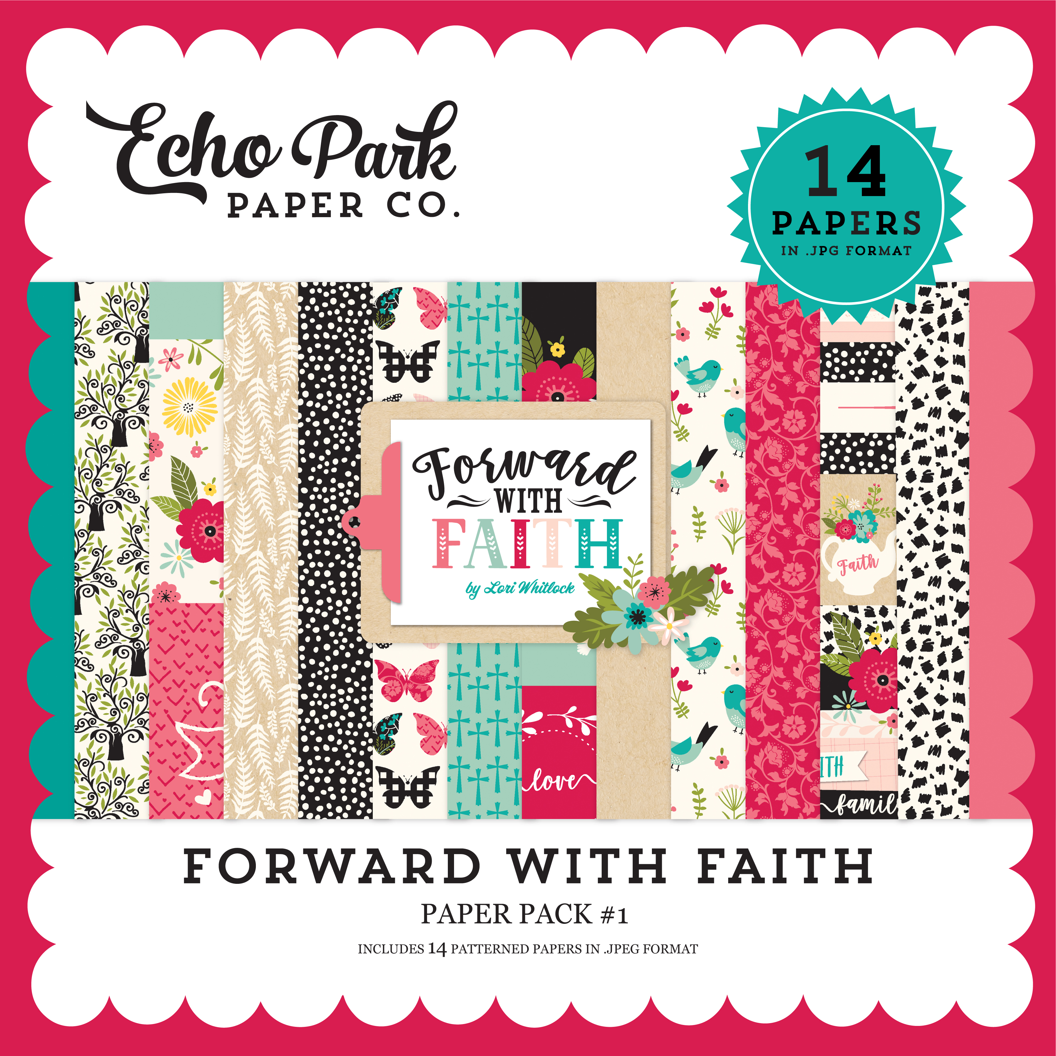 Forward with Faith Paper Pack #1