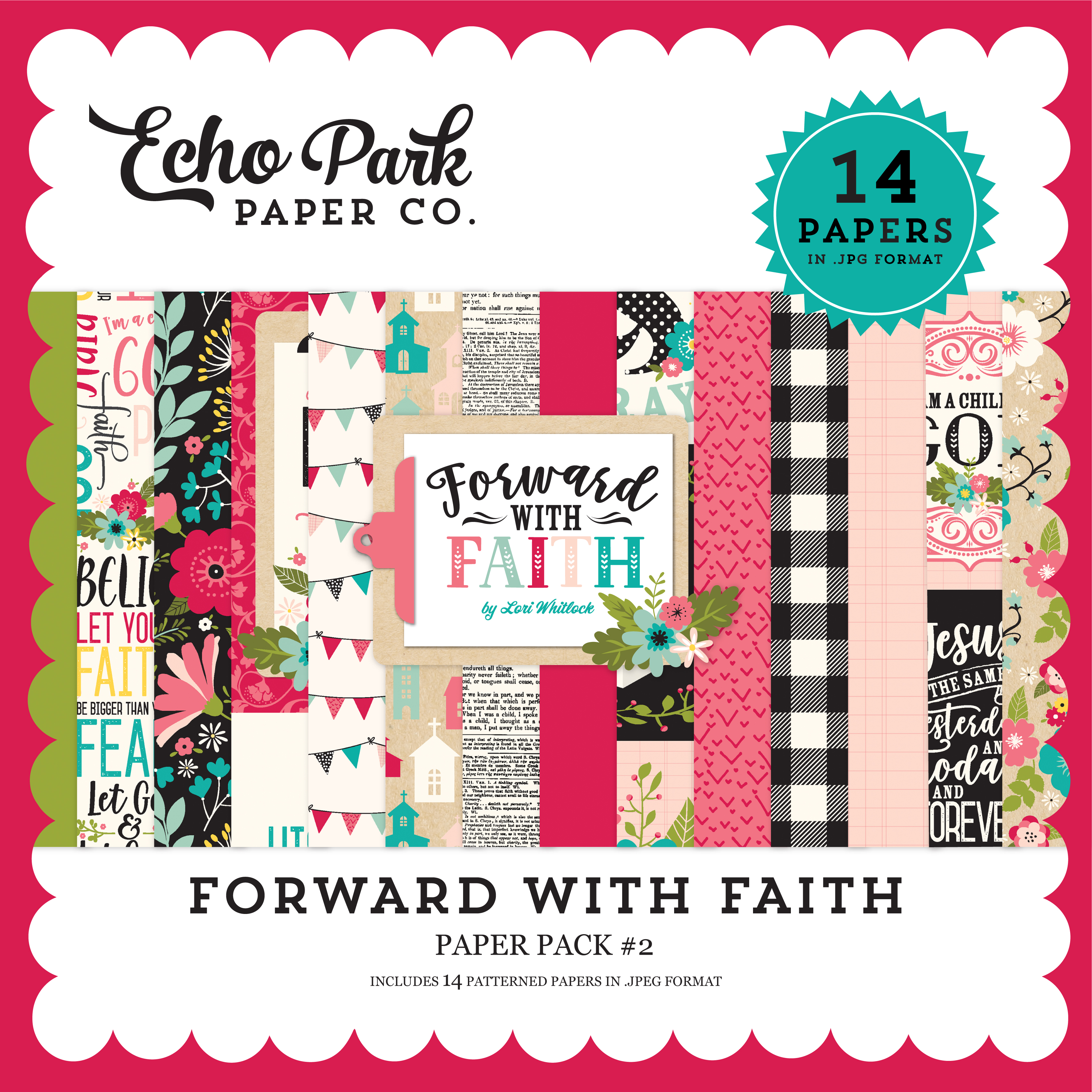 Forward with Faith Paper Pack #2