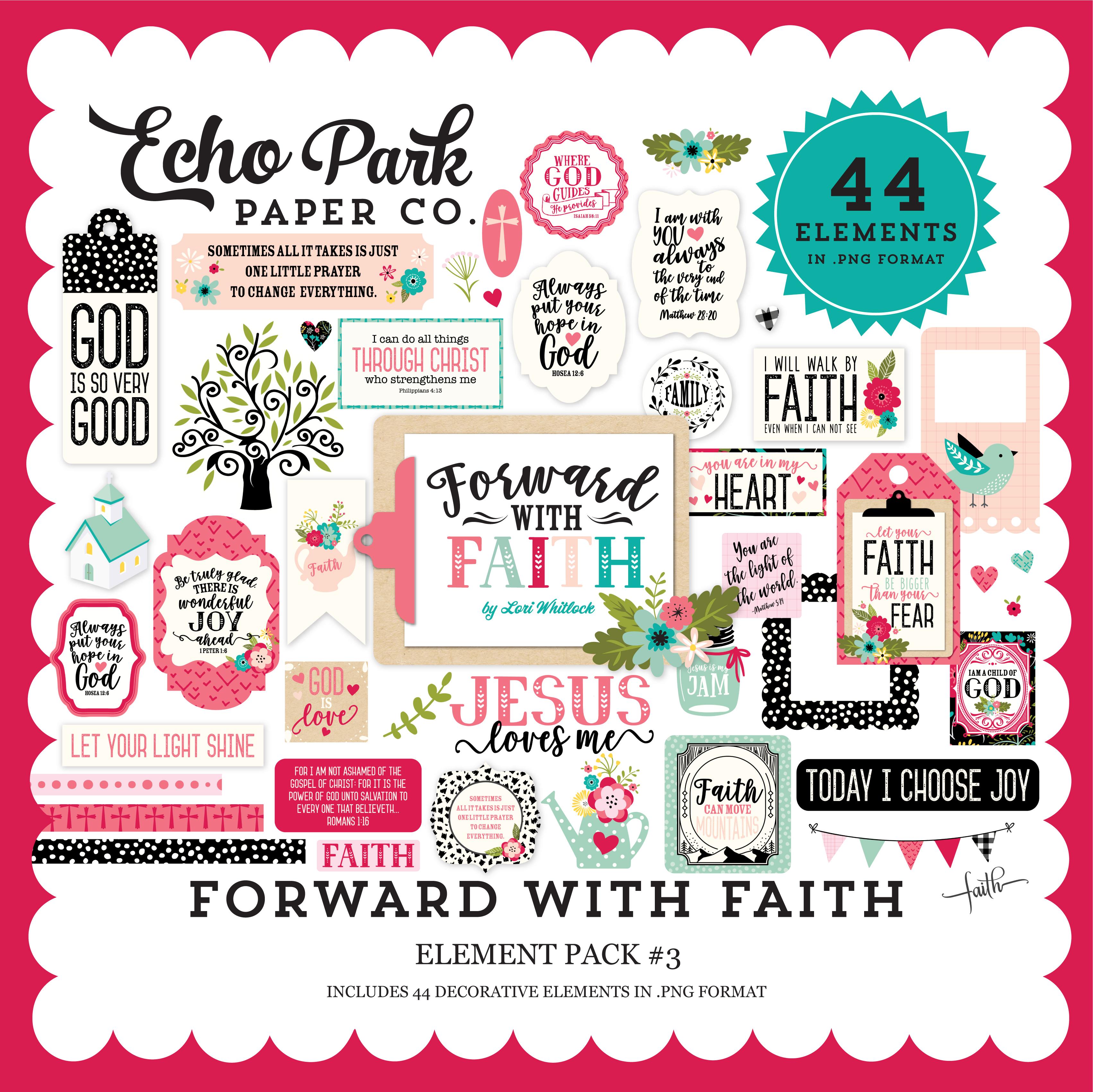 Forward with Faith Element Pack #3