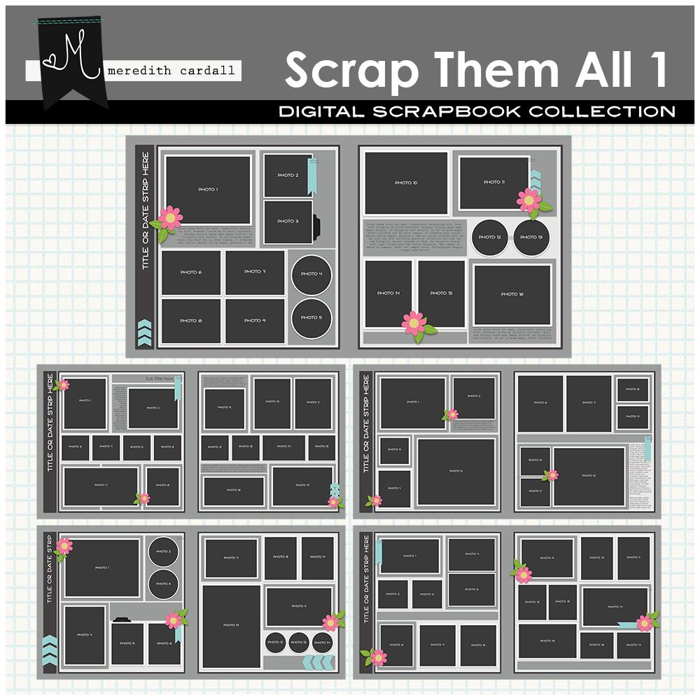 Scrap Them All Templates 1