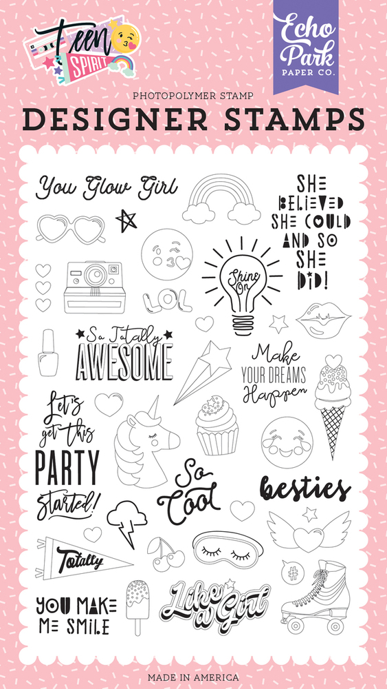You Glow Girl Stamp Set