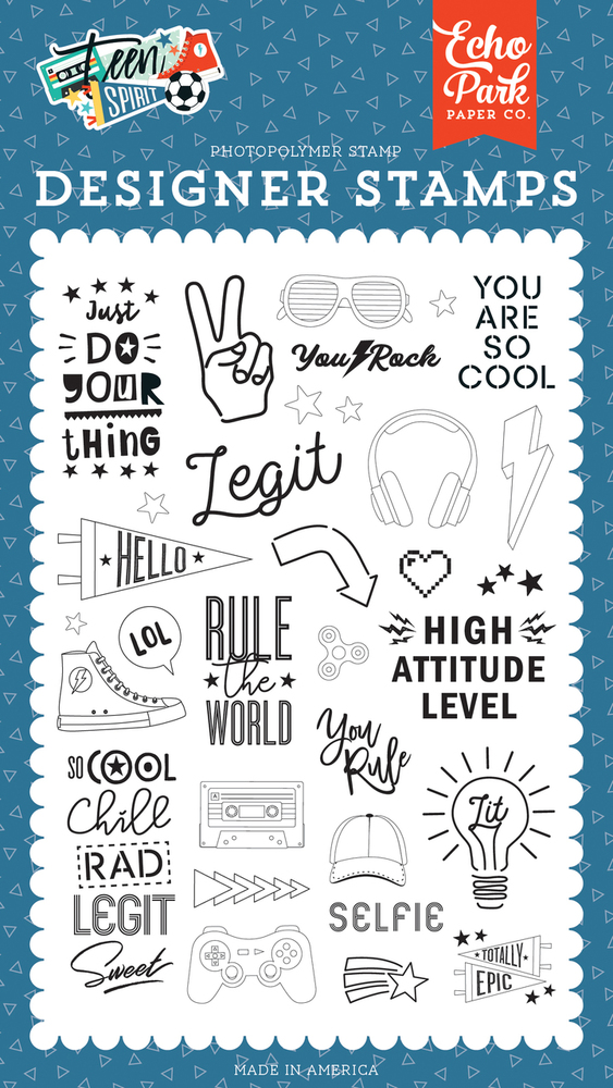 Rule The World Stamp Set