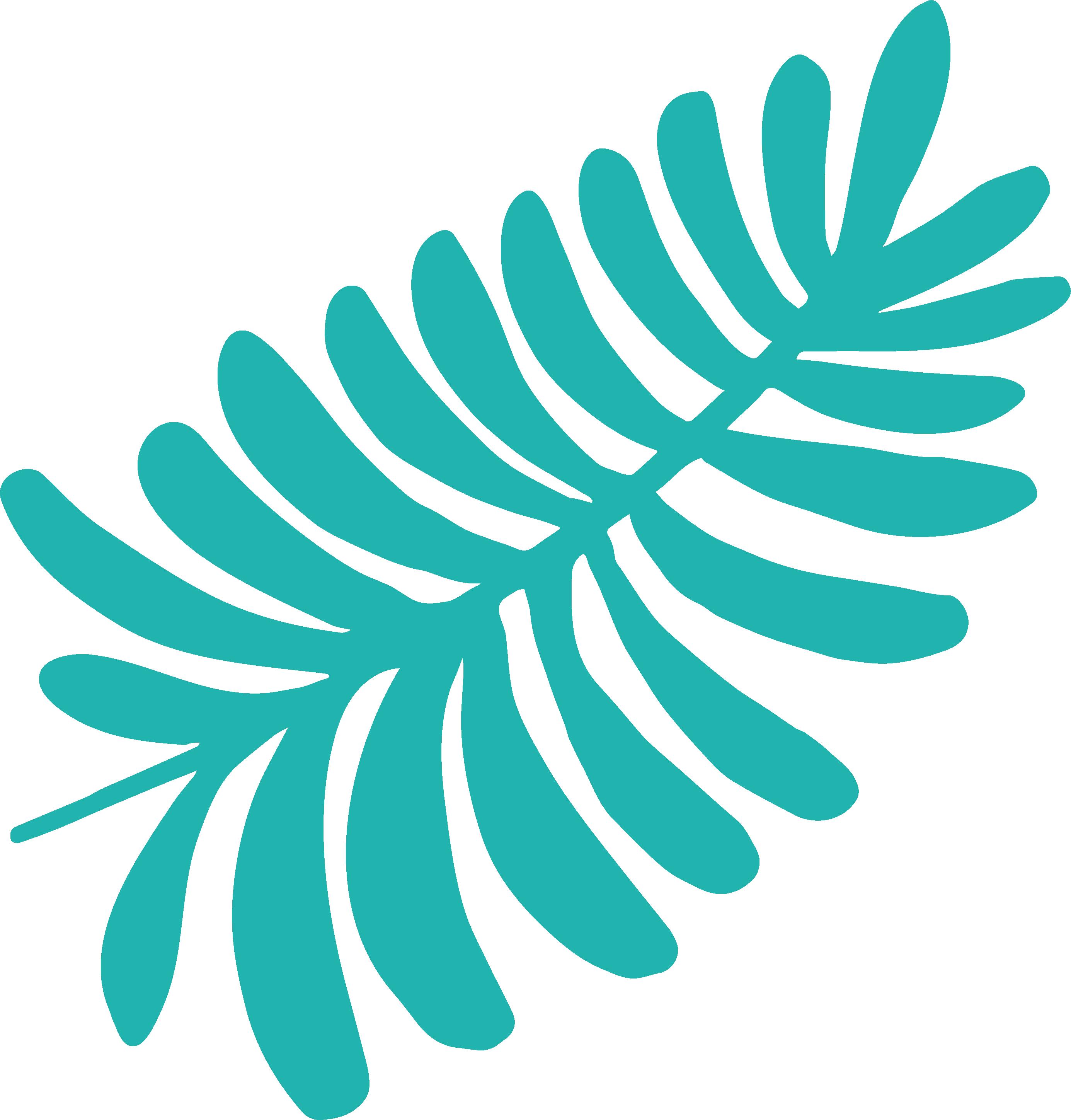 Let's Travel Leaves SVG Cut File
