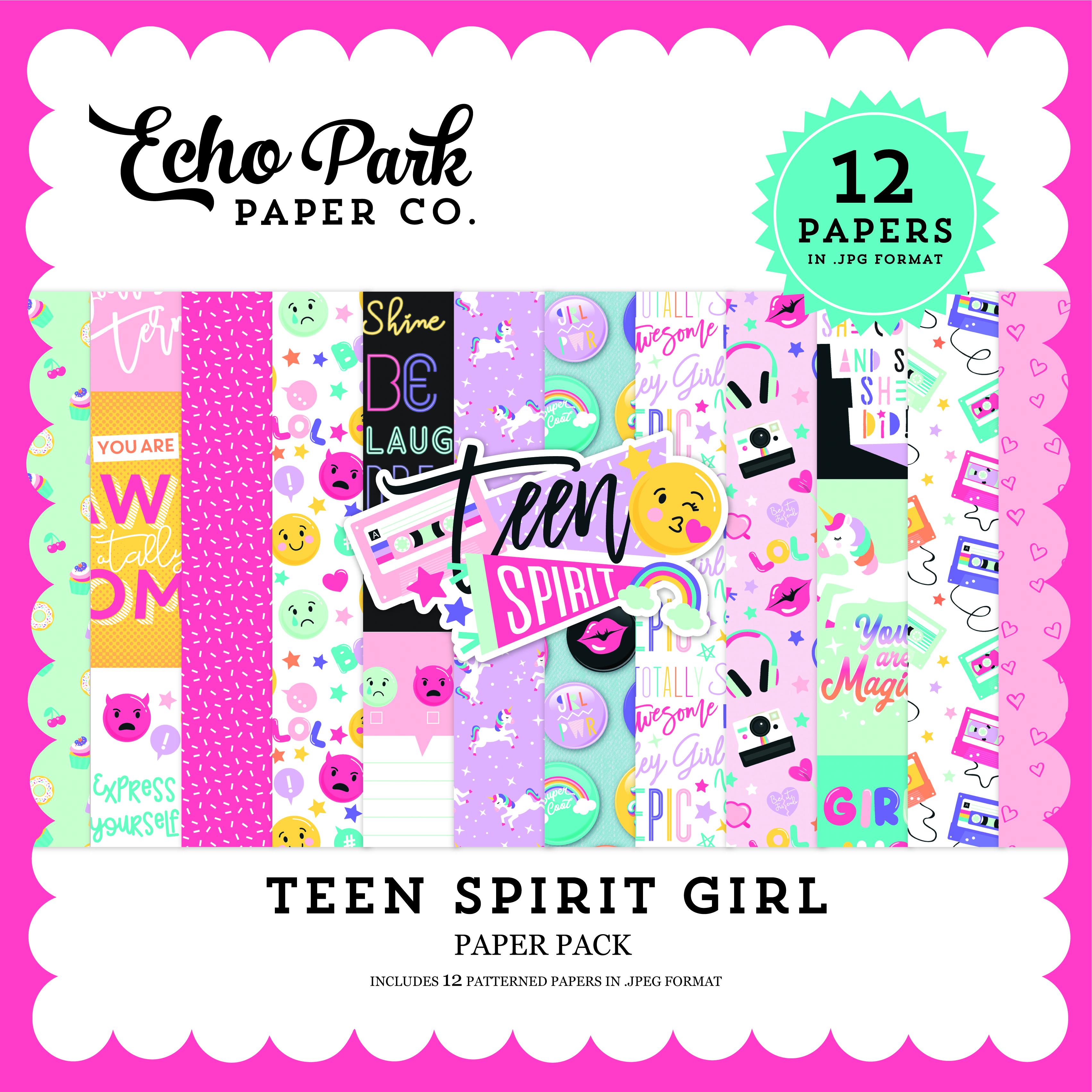Teen Spirit Girl Paper Pack