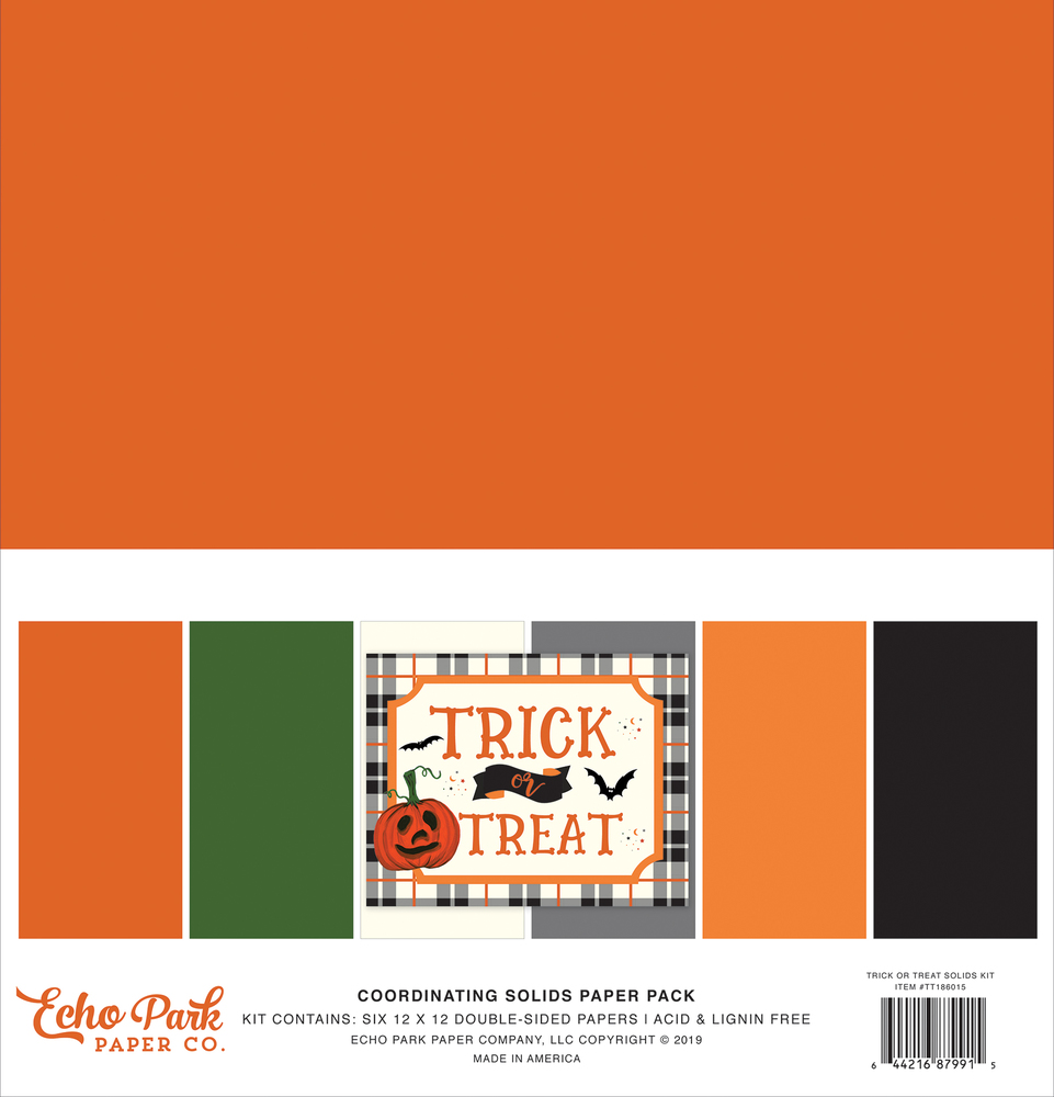Trick or Treat Solids Kit