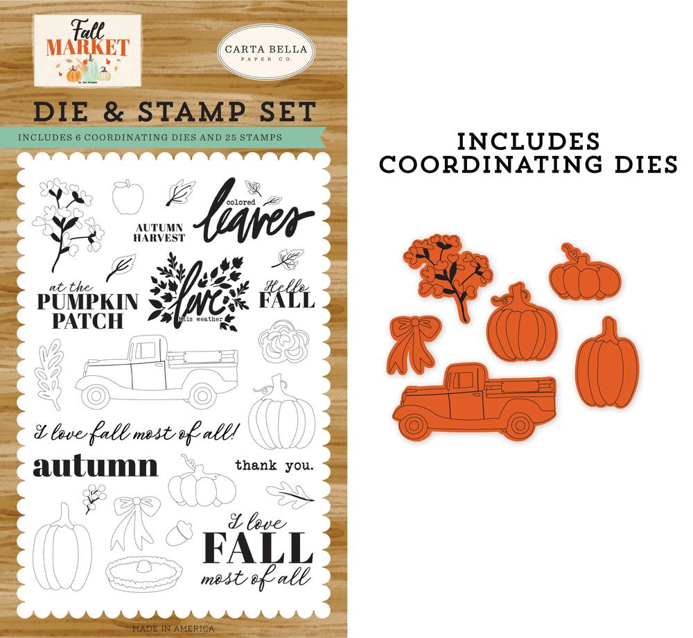Autumn Harvest Die & Stamp Set