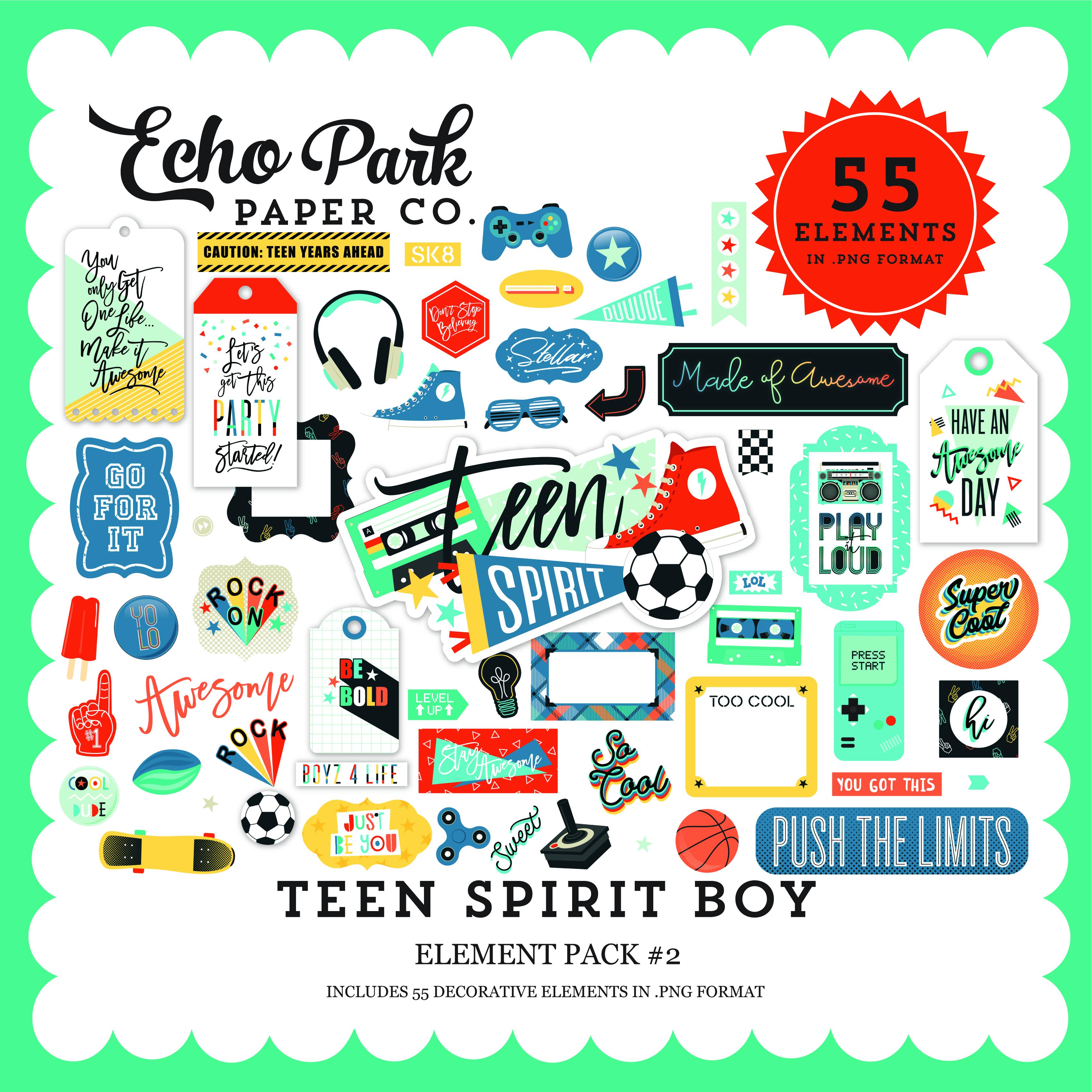 Teen Spirit Boy Element Pack #2