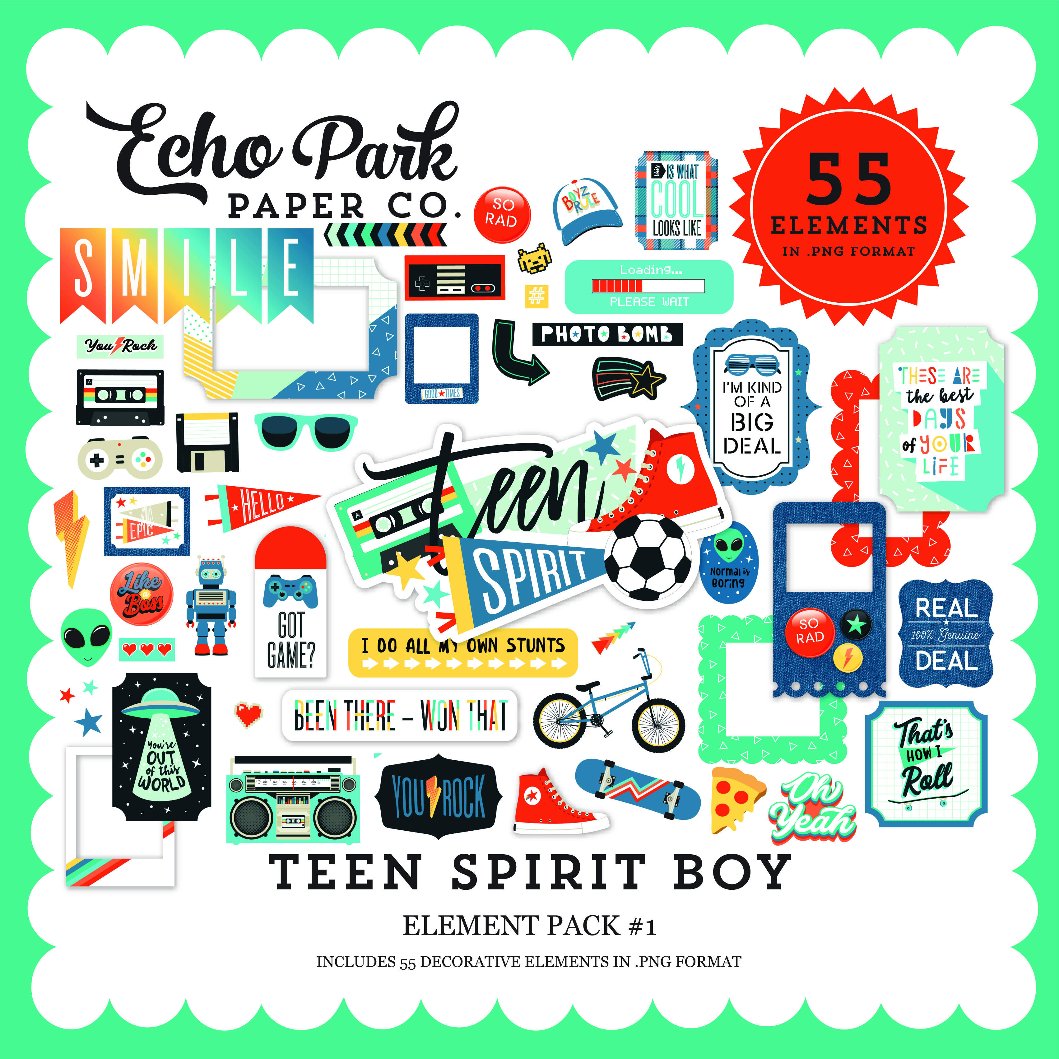 Teen Spirit Boy Full Collection