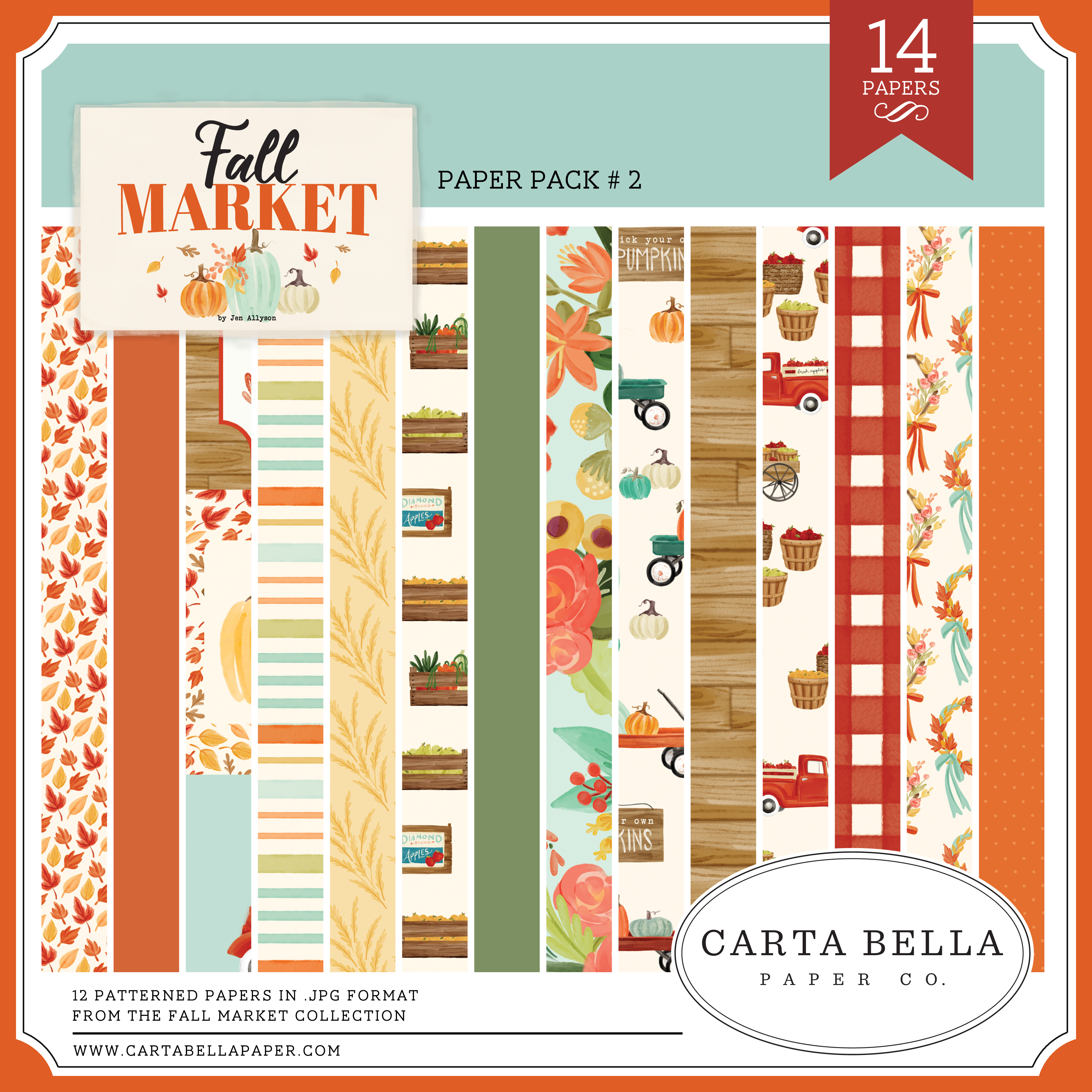 Fall Market Paper Pack #2