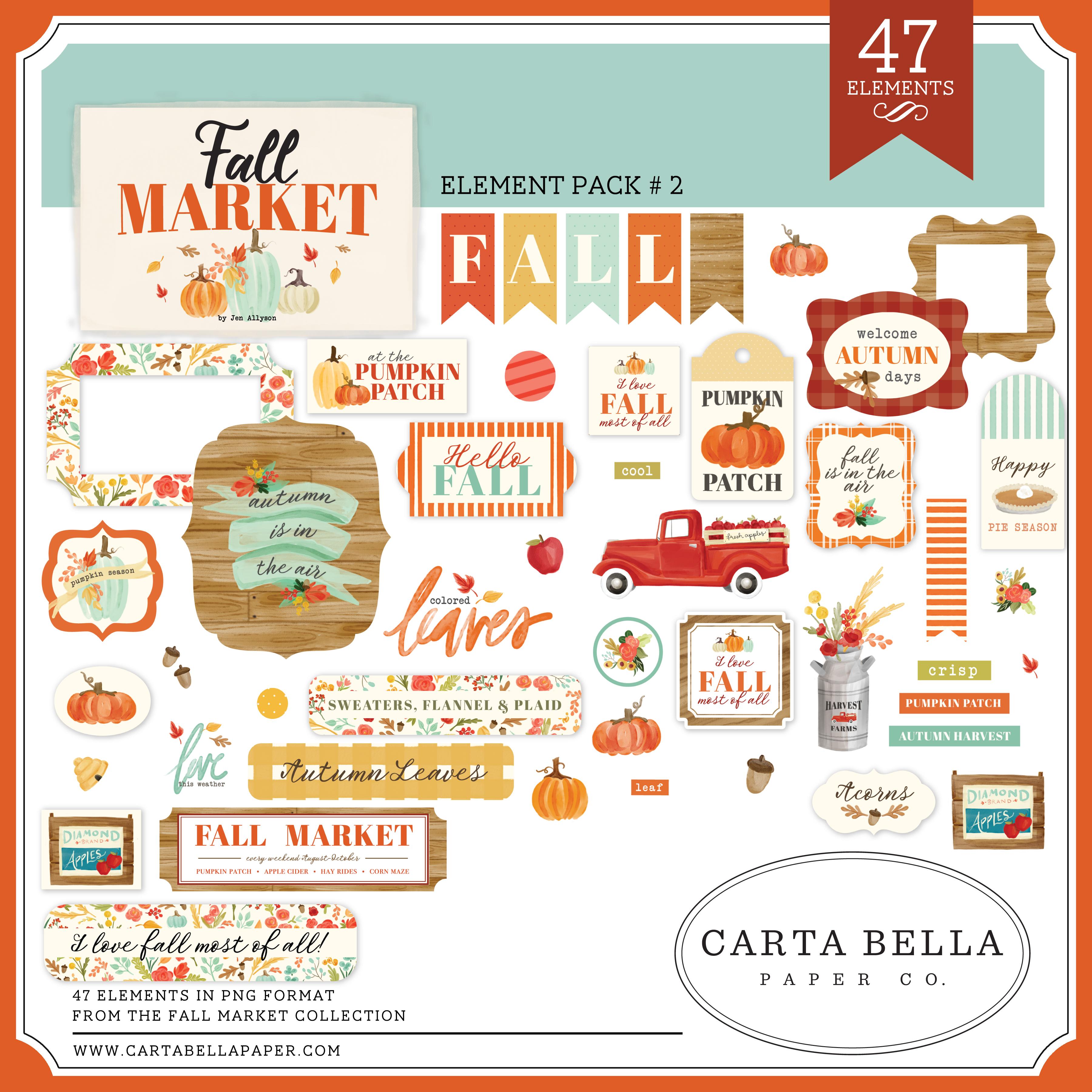 Fall Market Element Pack #2