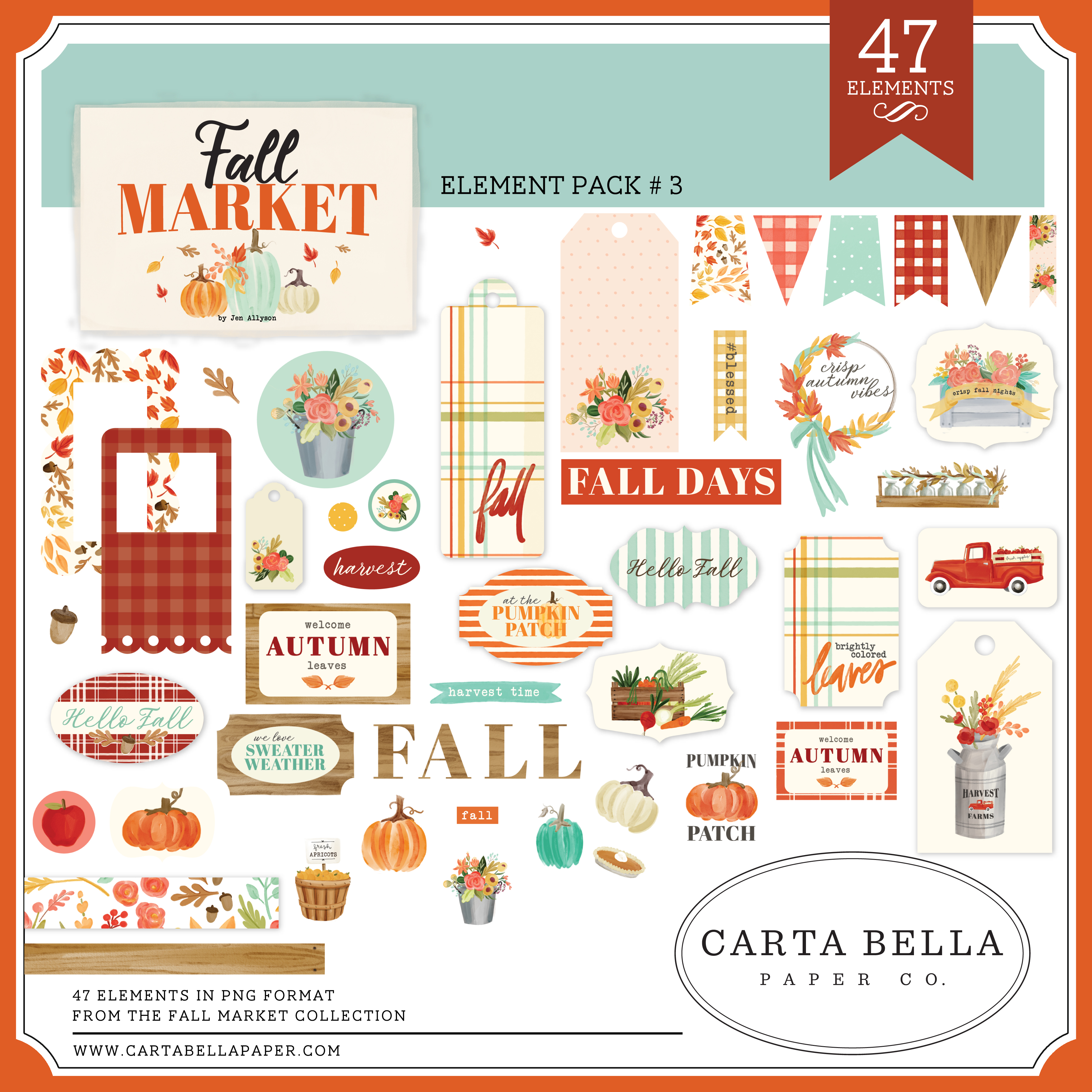 Fall Market Element Pack #3
