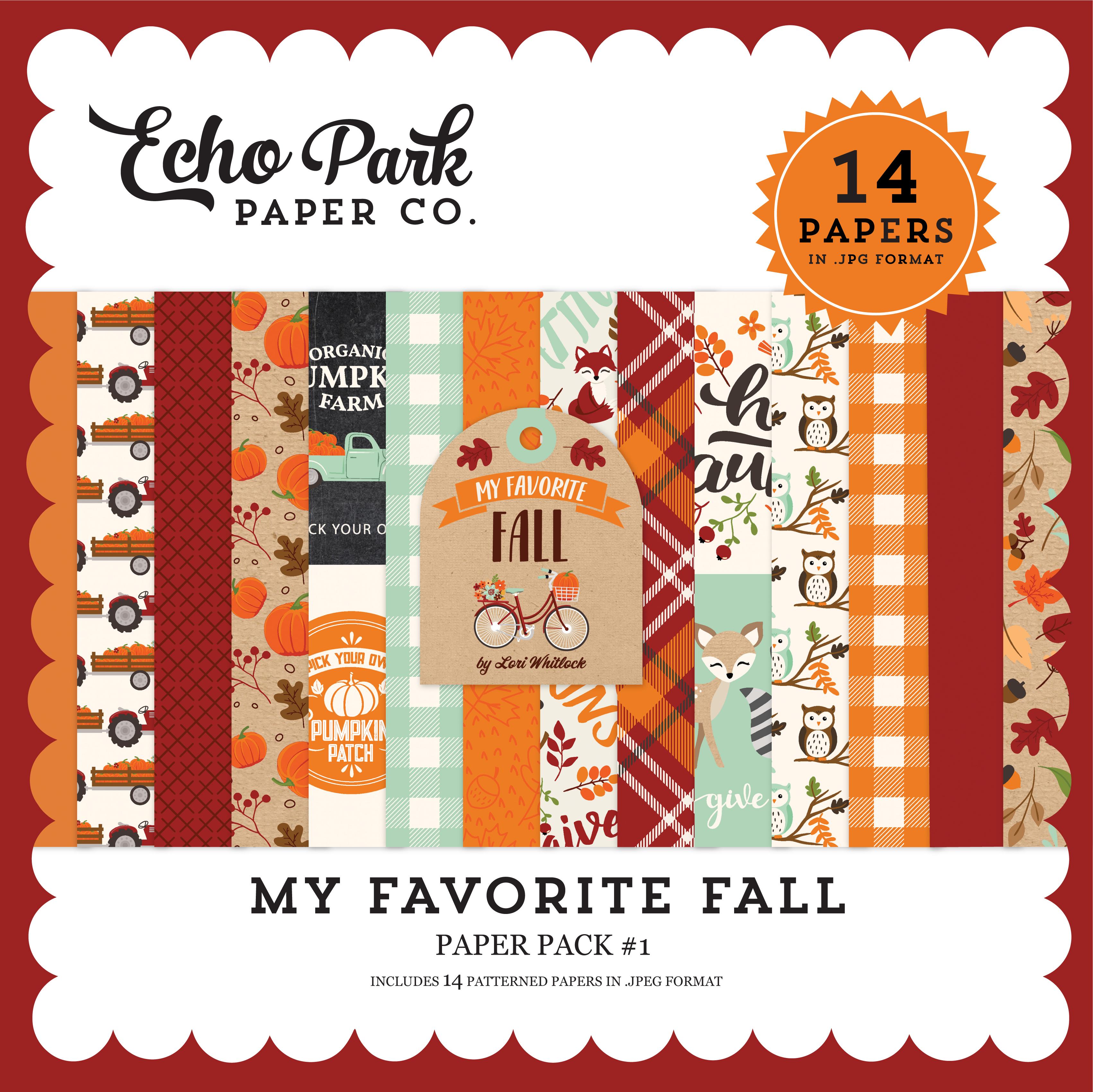 My Favorite Fall Paper Pack #1