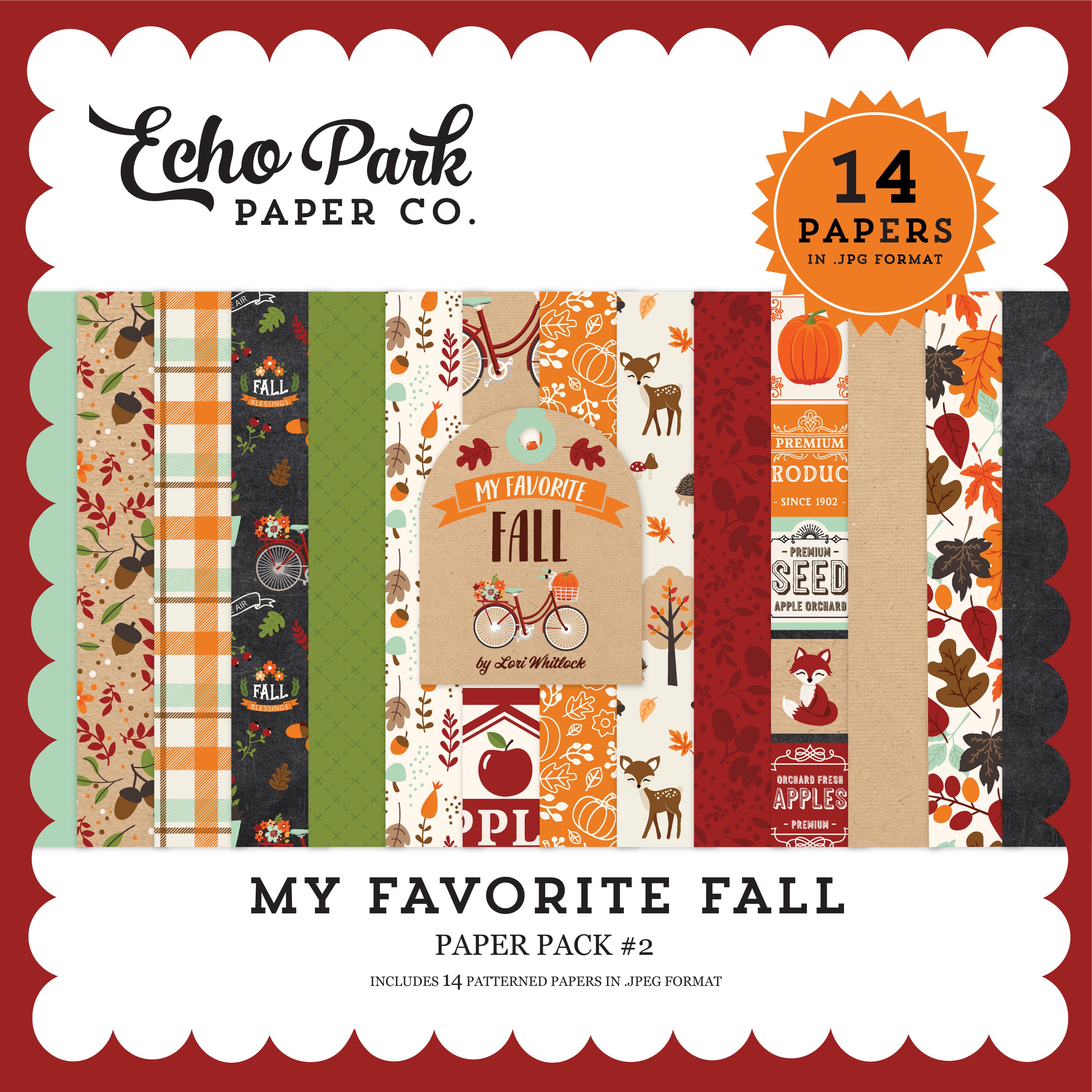 My Favorite Fall Paper Pack #2