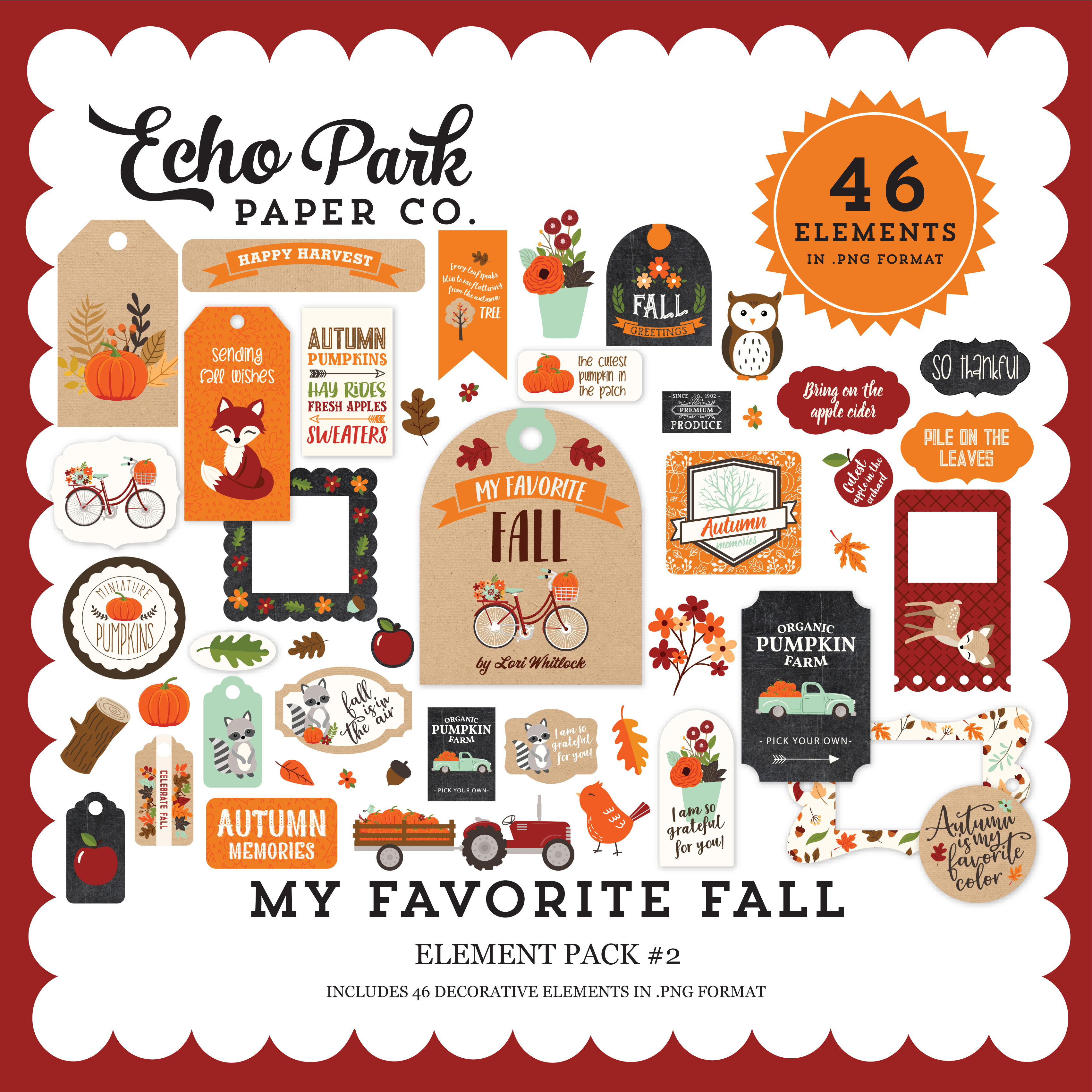 My Favorite Fall Element Pack #2