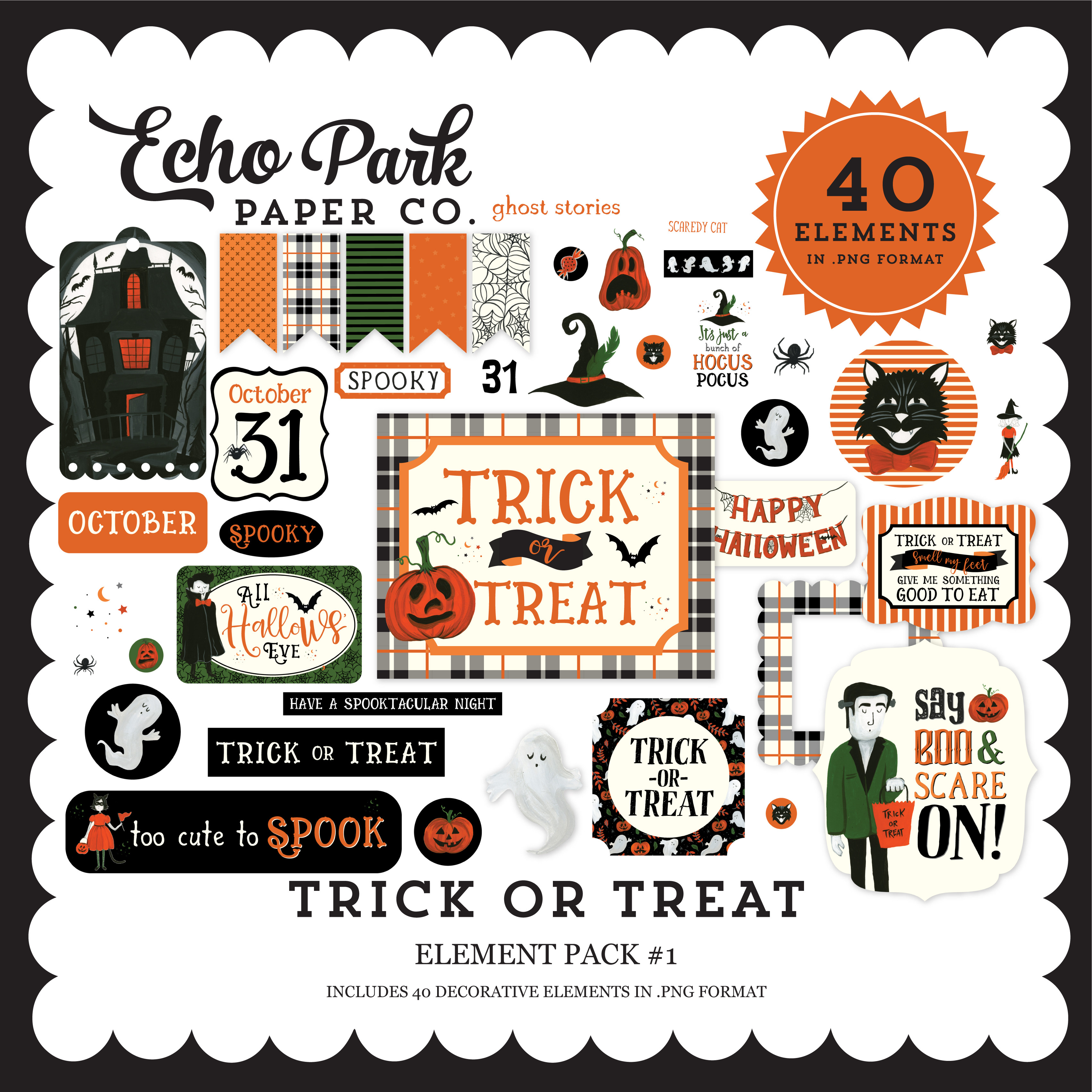 Trick or Treat Element Pack #1