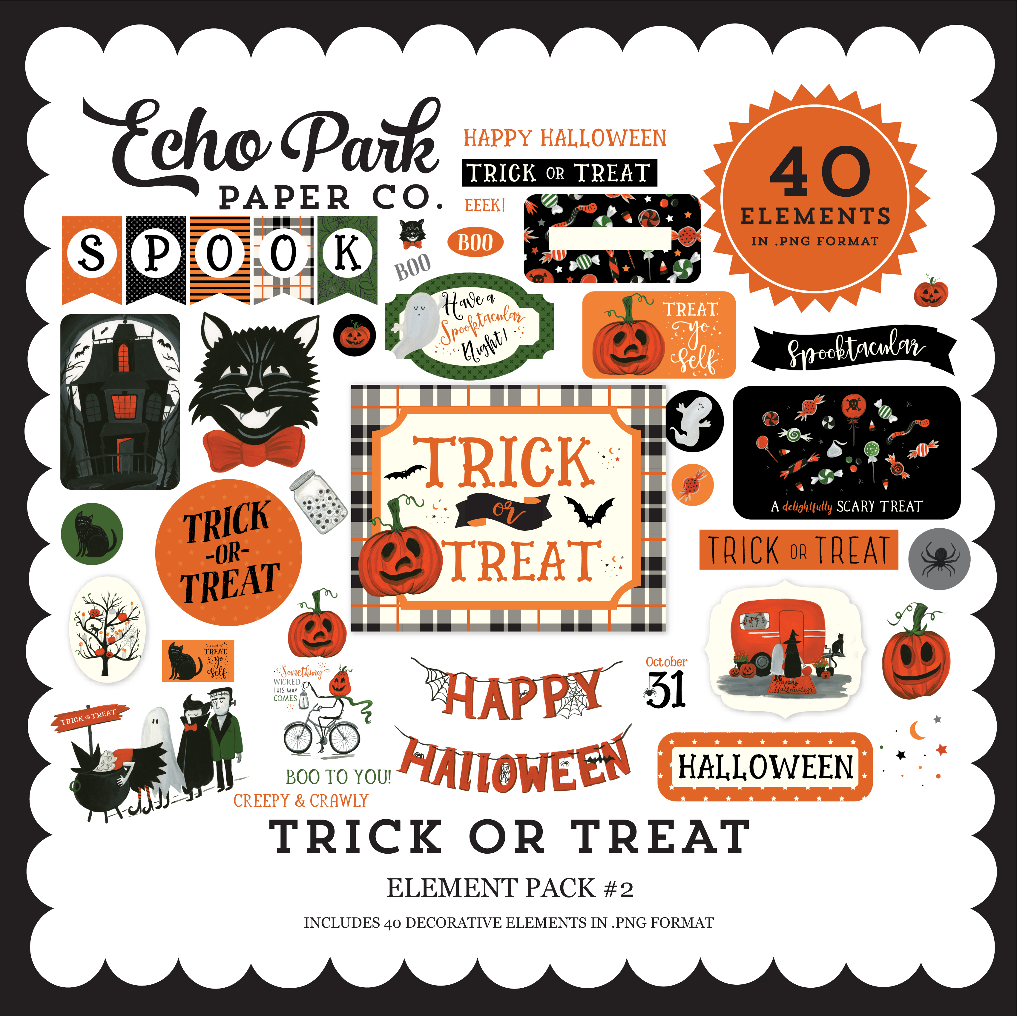 Trick or Treat Element Pack #2