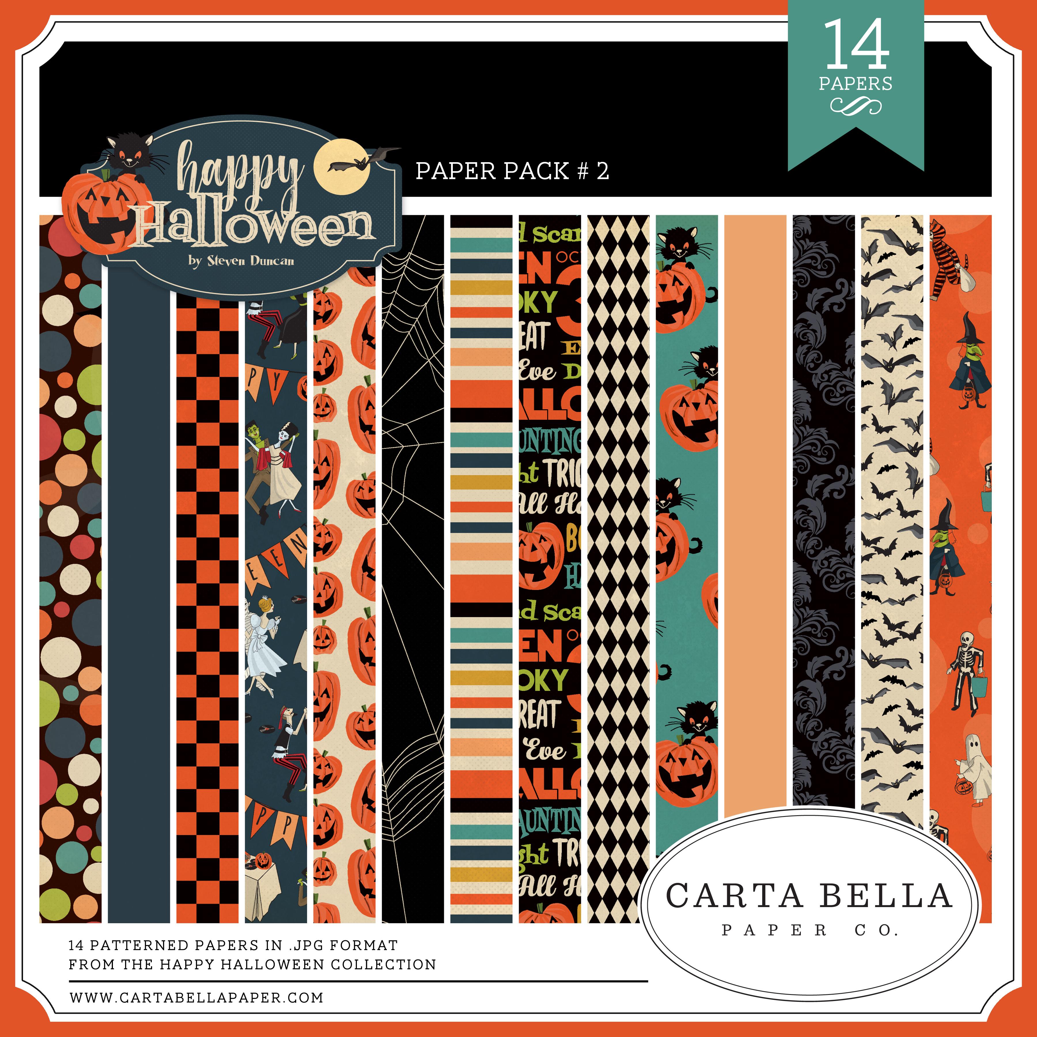 Happy Halloween CB Paper Pack #2
