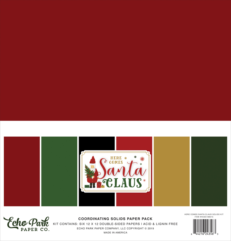 Here Comes Santa Clause Solids Kit