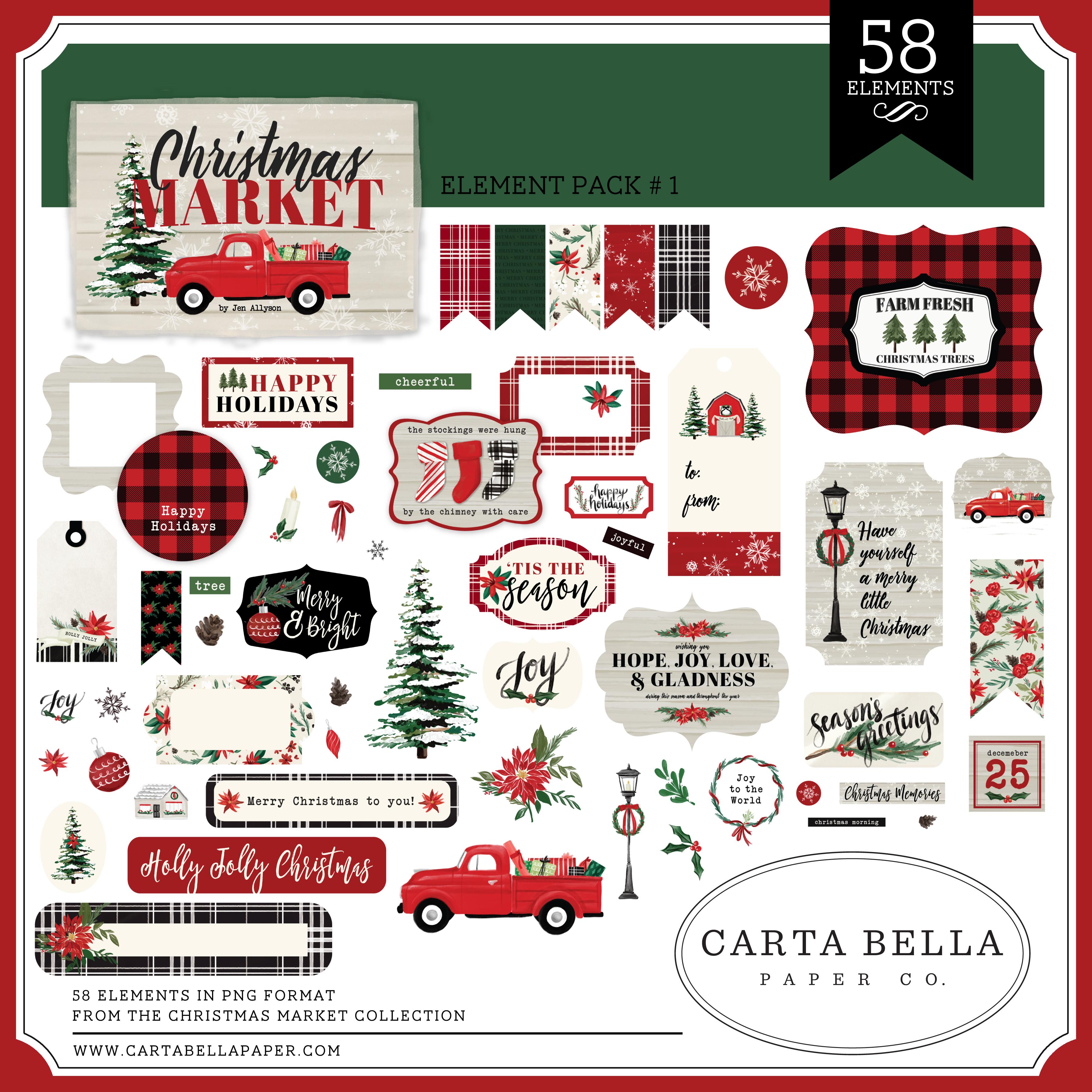 Christmas Market Mega Collection