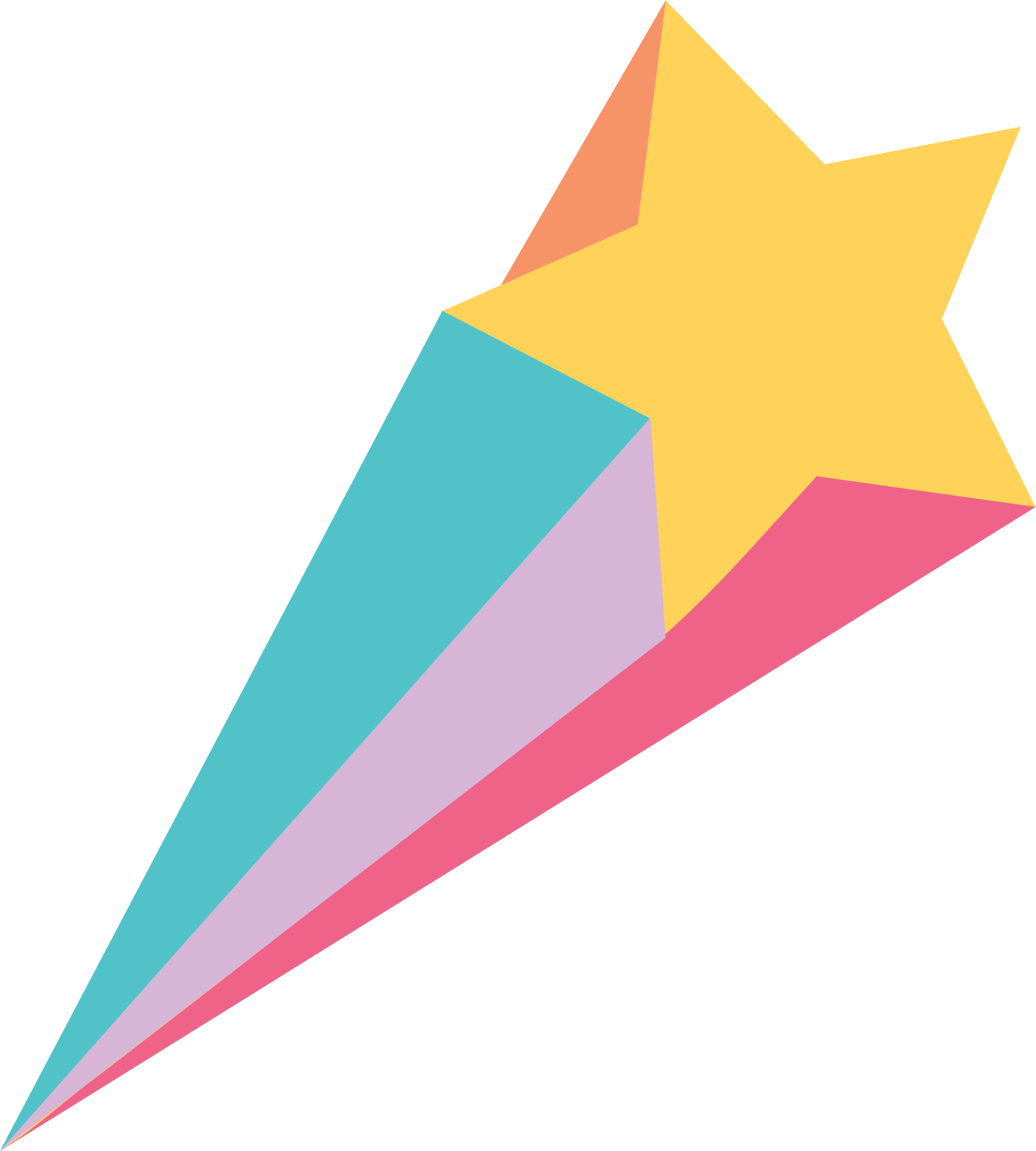 Shooting Star SVG Cut File - Snap Click Supply Co.