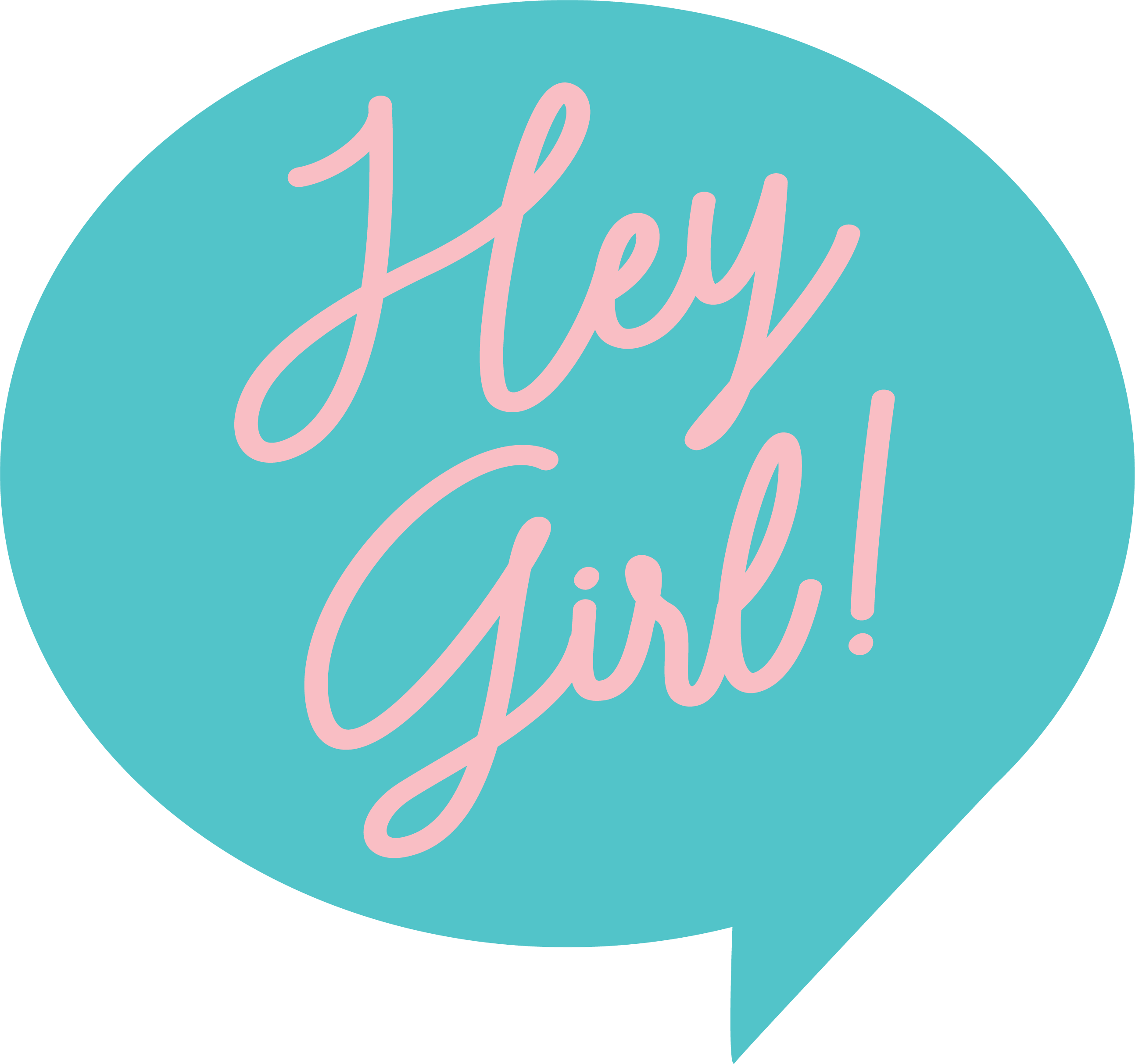 Hey Girl SVG Cut File