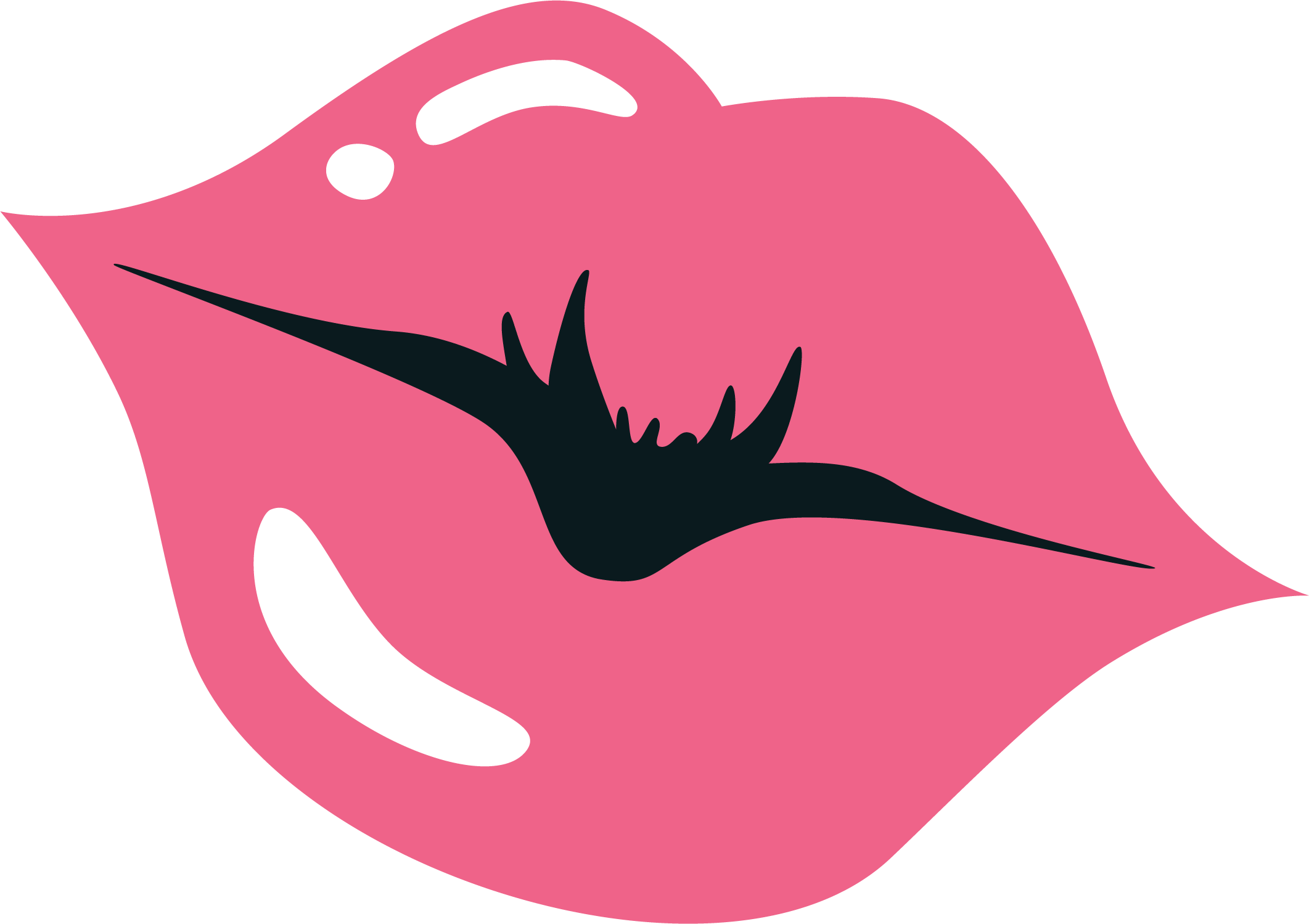 Lips SVG Cut File