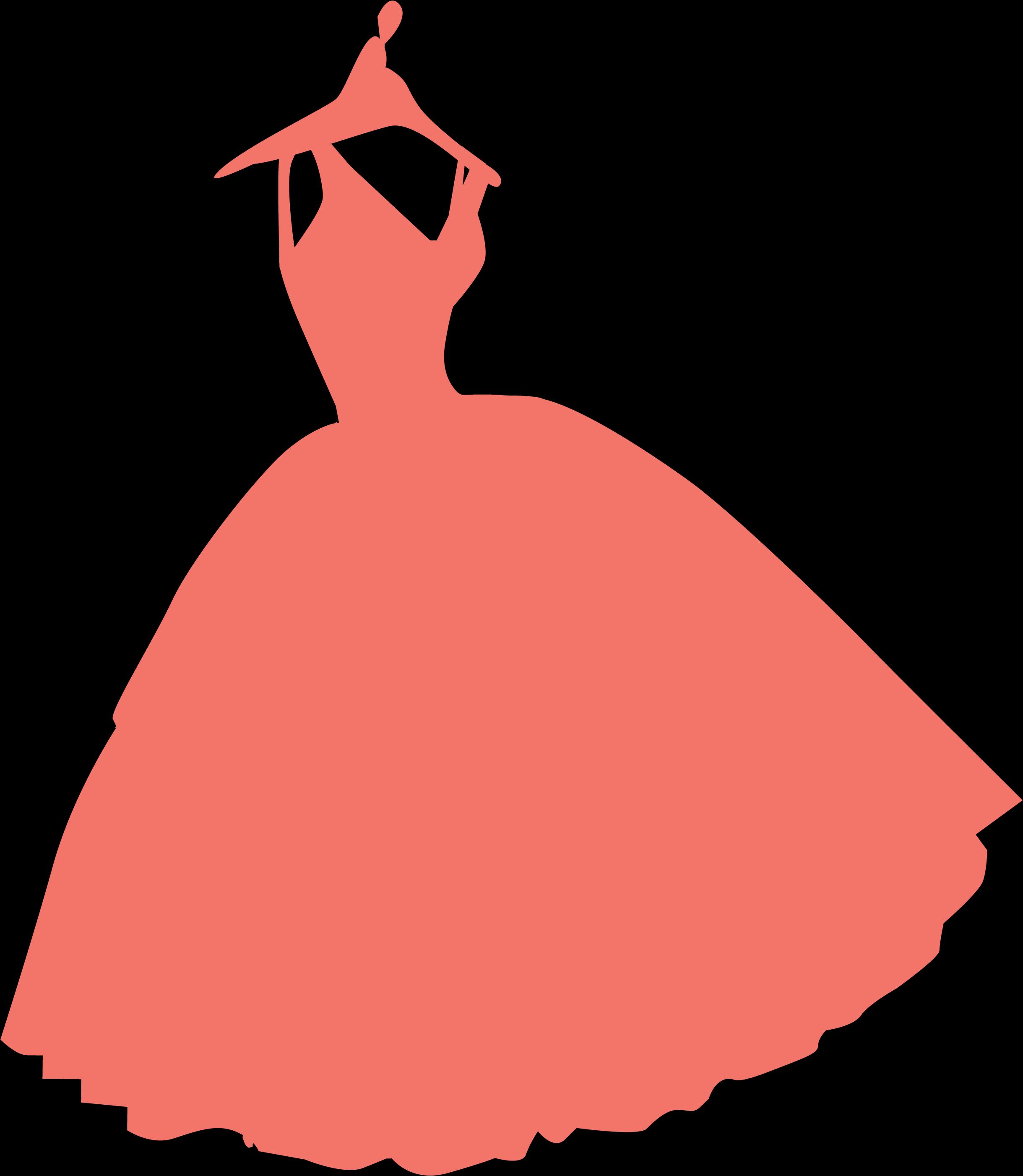 Dress Silhouette SVG Cut File