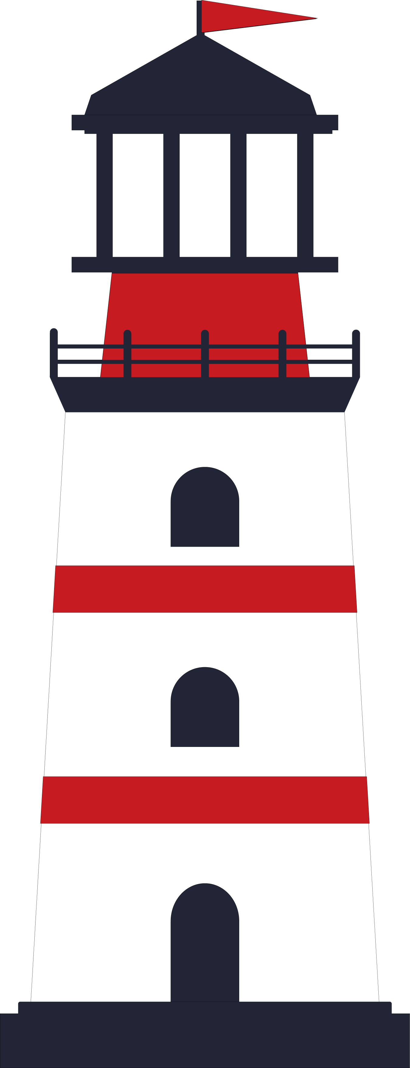 Lighthouse SVG Cut File
