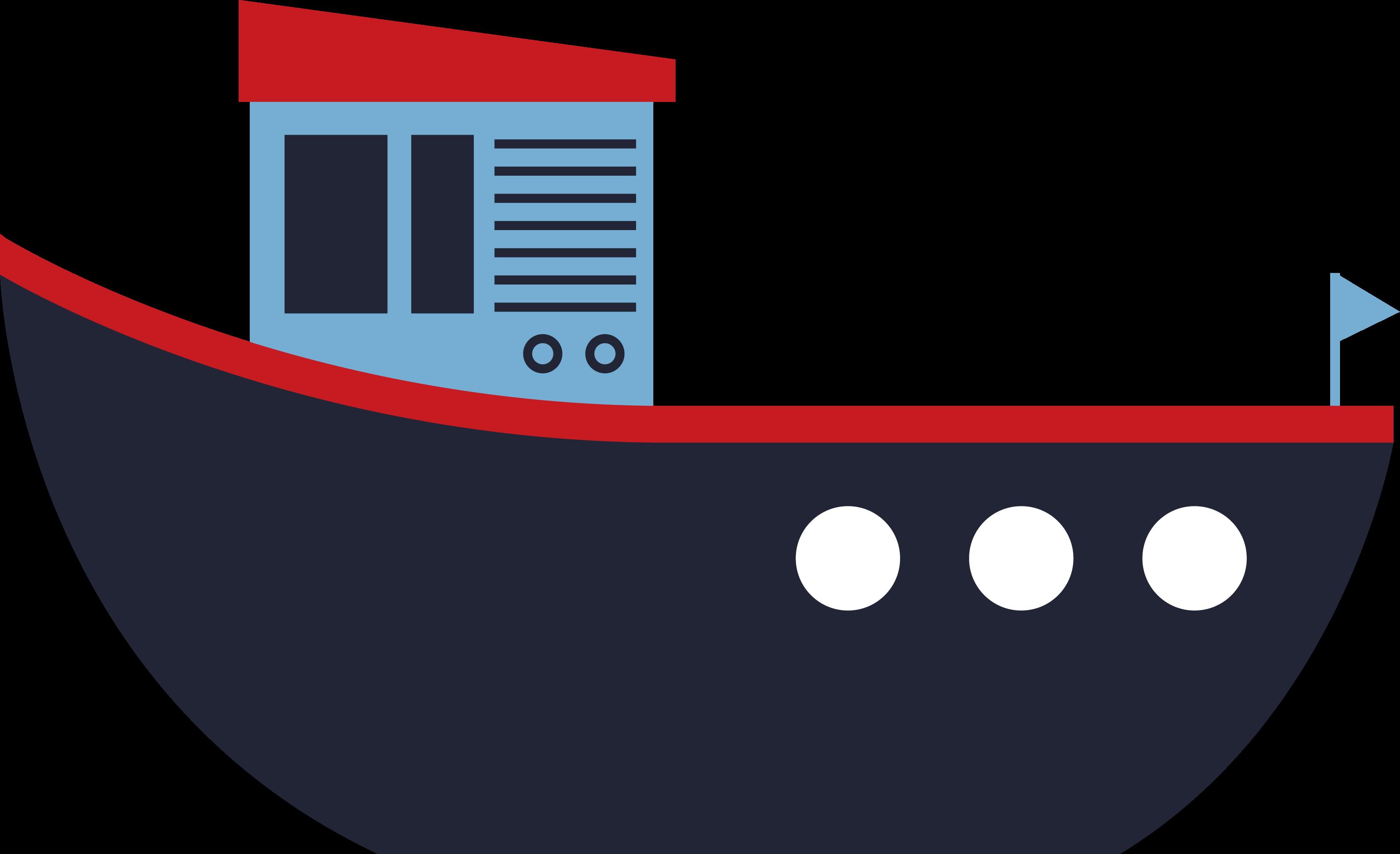 Tug Boat SVG Cut File