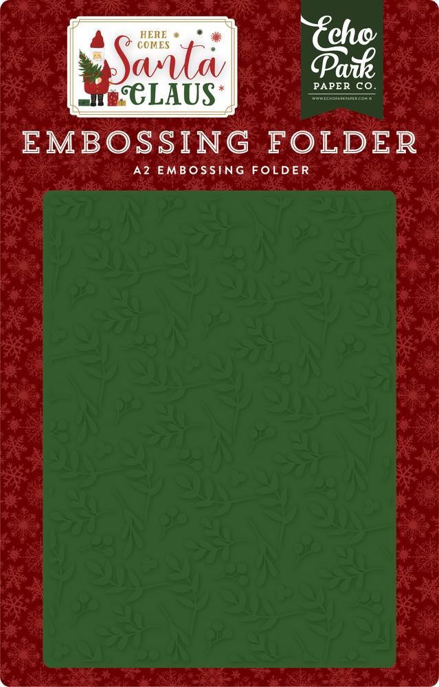 Deck The Halls Embossing Folder
