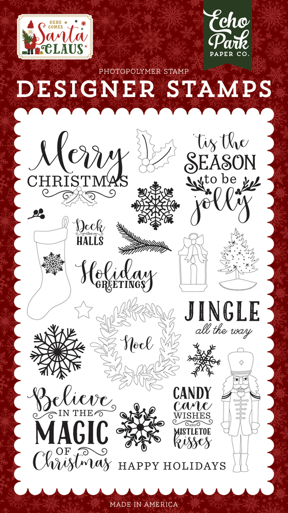 Magic Of Christmas Stamp Set