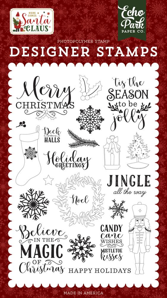 Christmas Stamps.Magic Of Christmas Stamp Set