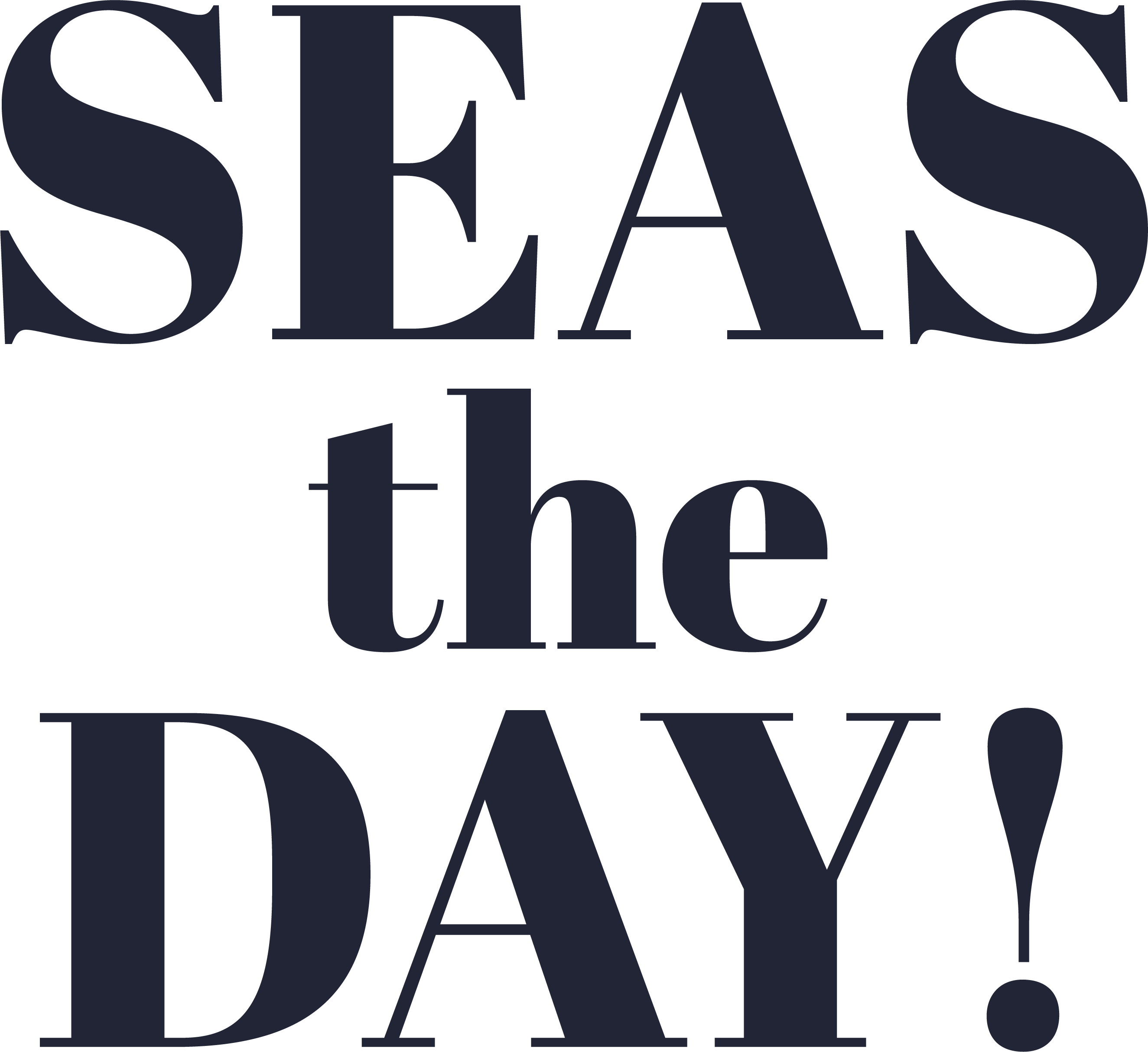 Seas The Day! #2 SVG Cut File