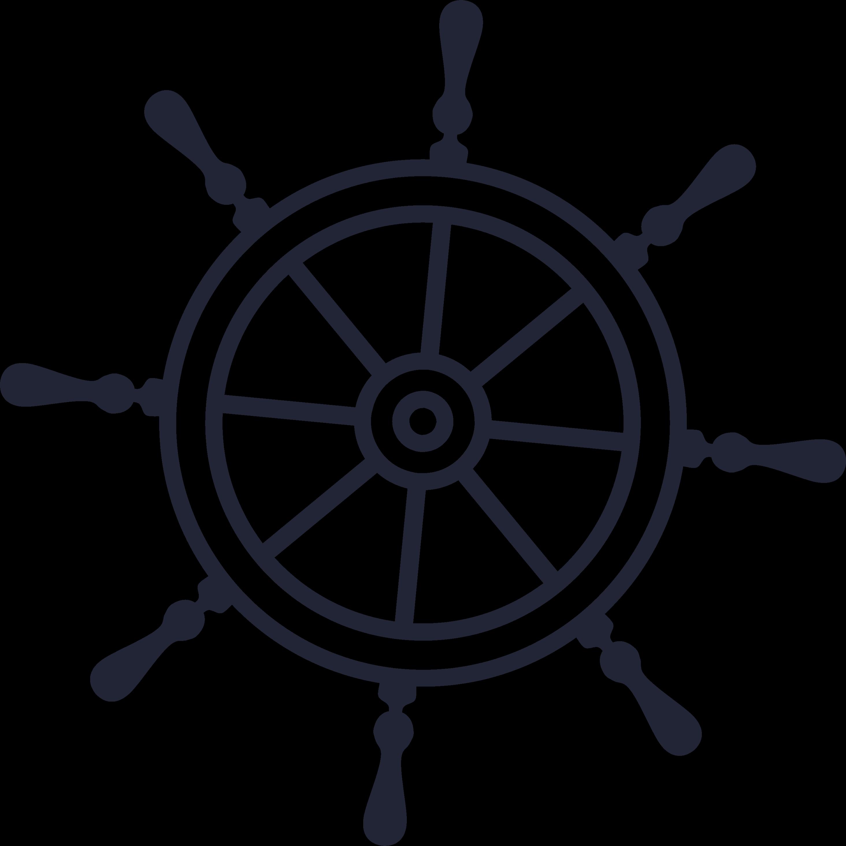 Ship Wheel SVG Cut File