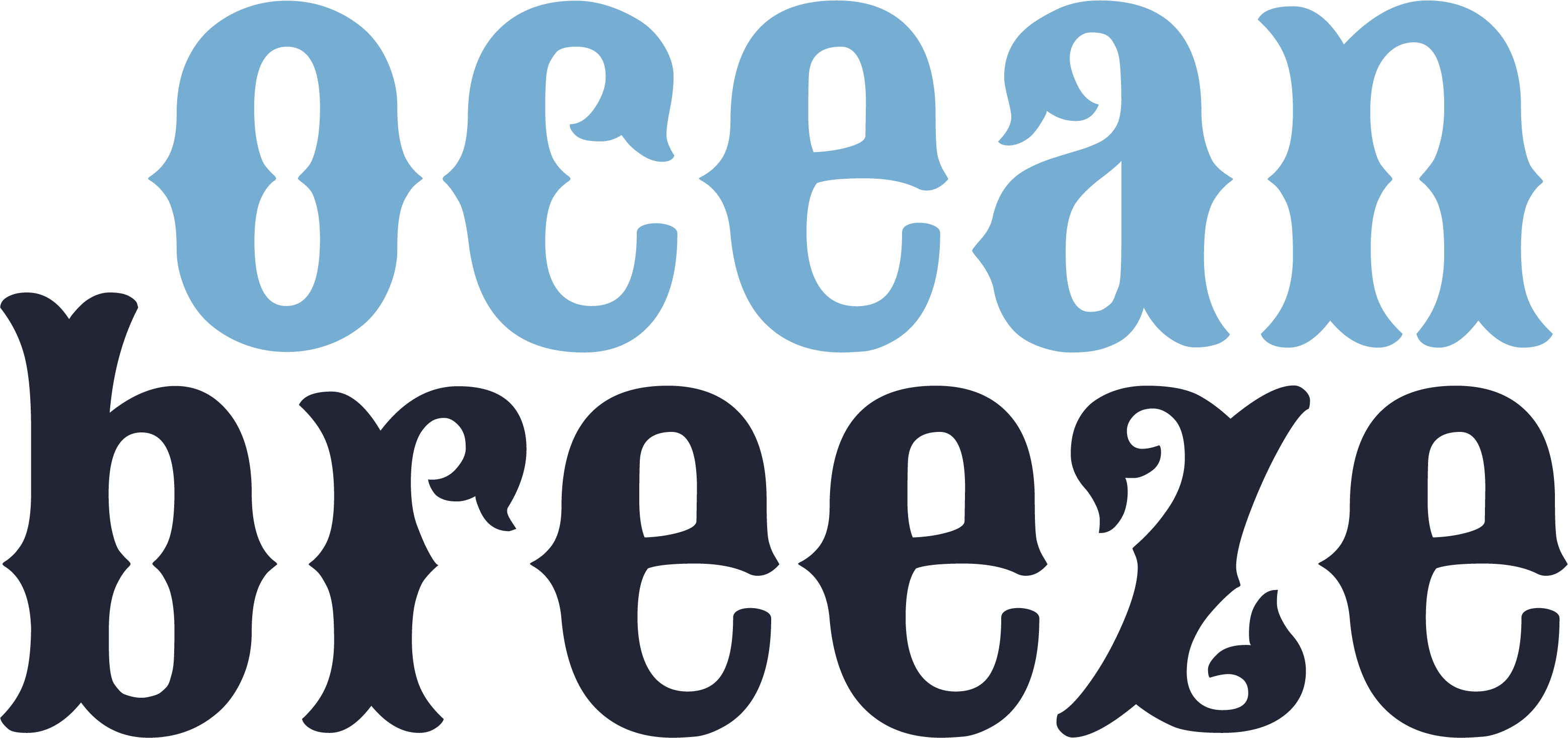 Ocean Breeze SVG Cut File