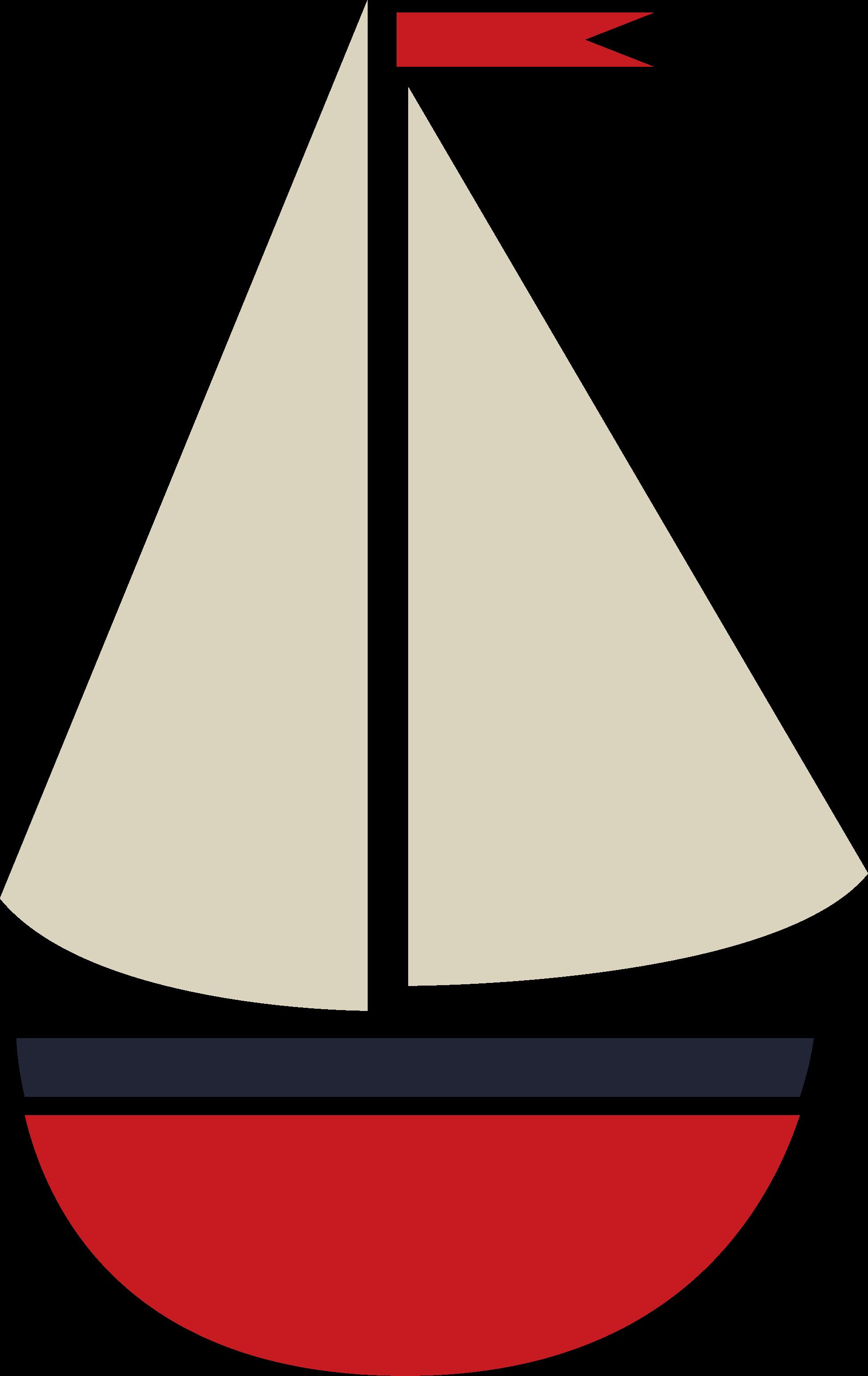 Deep Blue Sea Sailboat #2 SVG Cut File