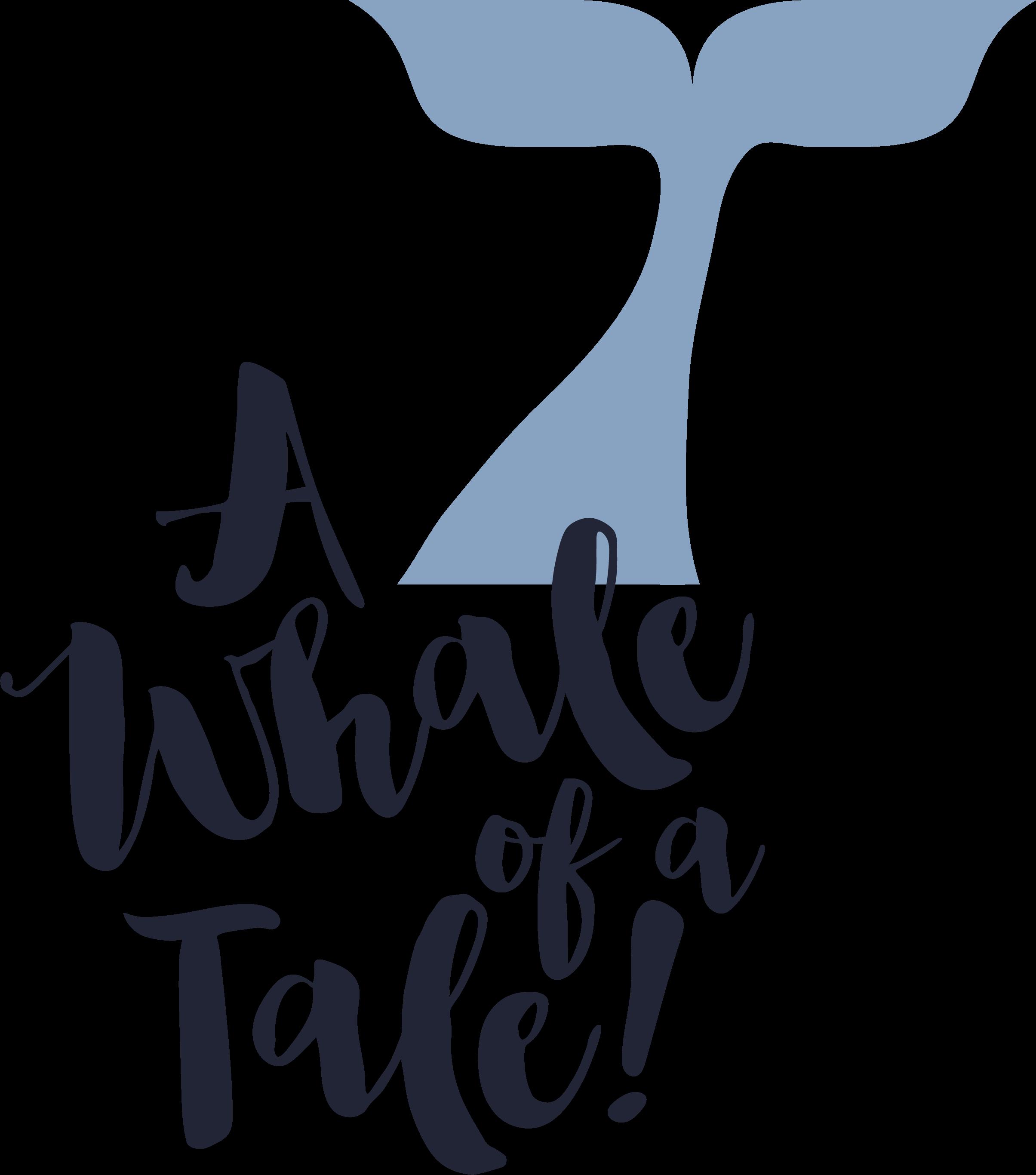 A Whale Of A Tale SVG Cut File