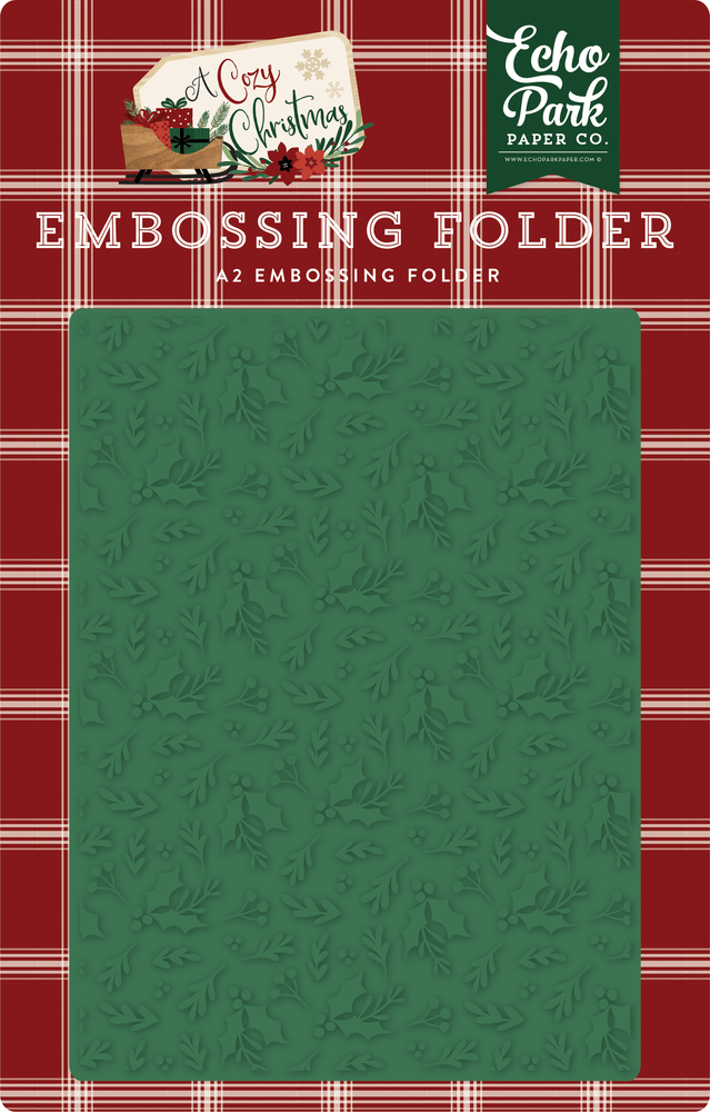 Holiday Branches Embossing Folder