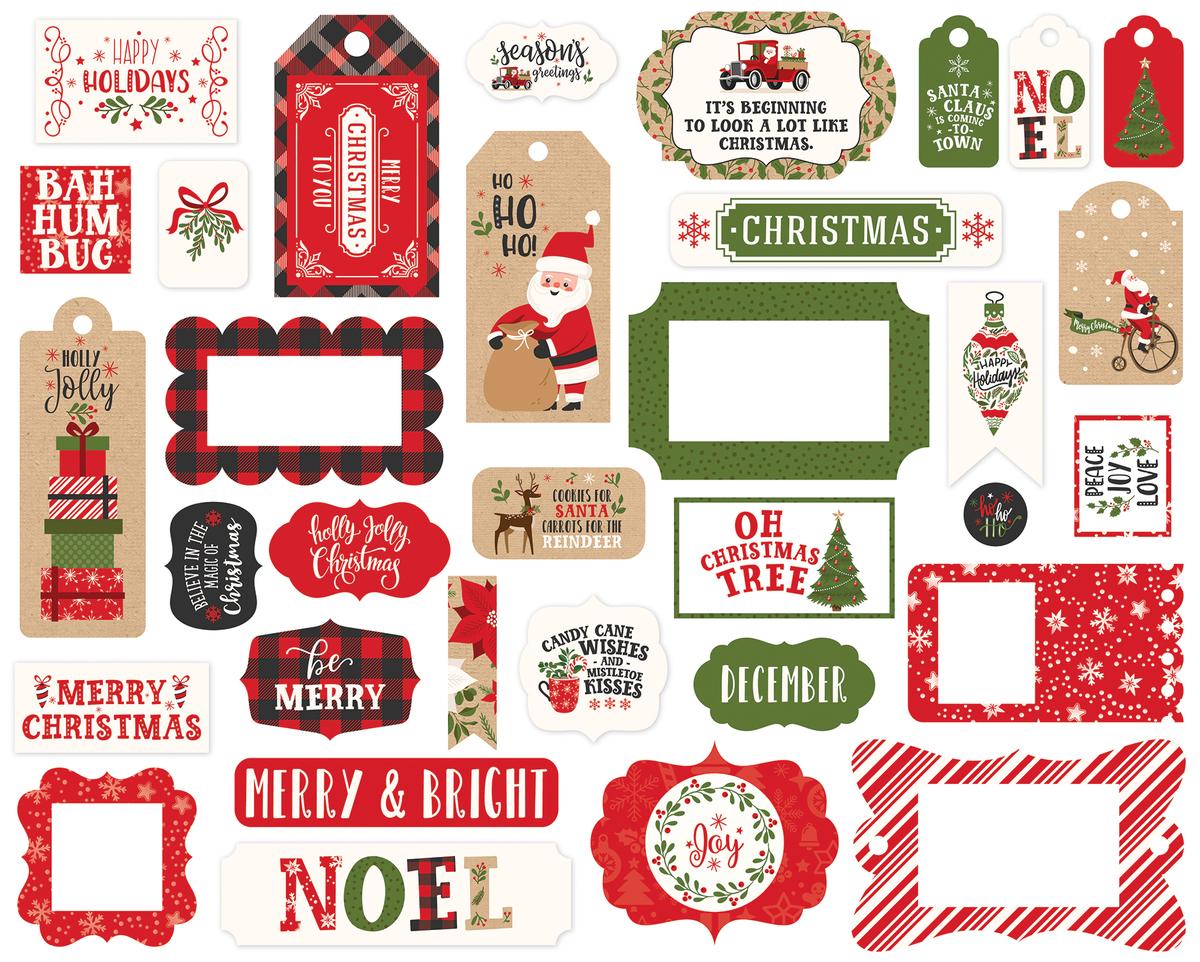 My Favorite Christmas Frames & Tags Ephemera