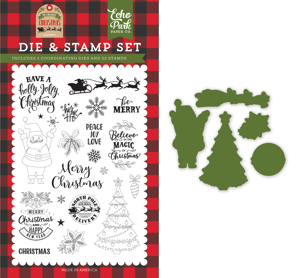 Be Merry Die & Stamp Set